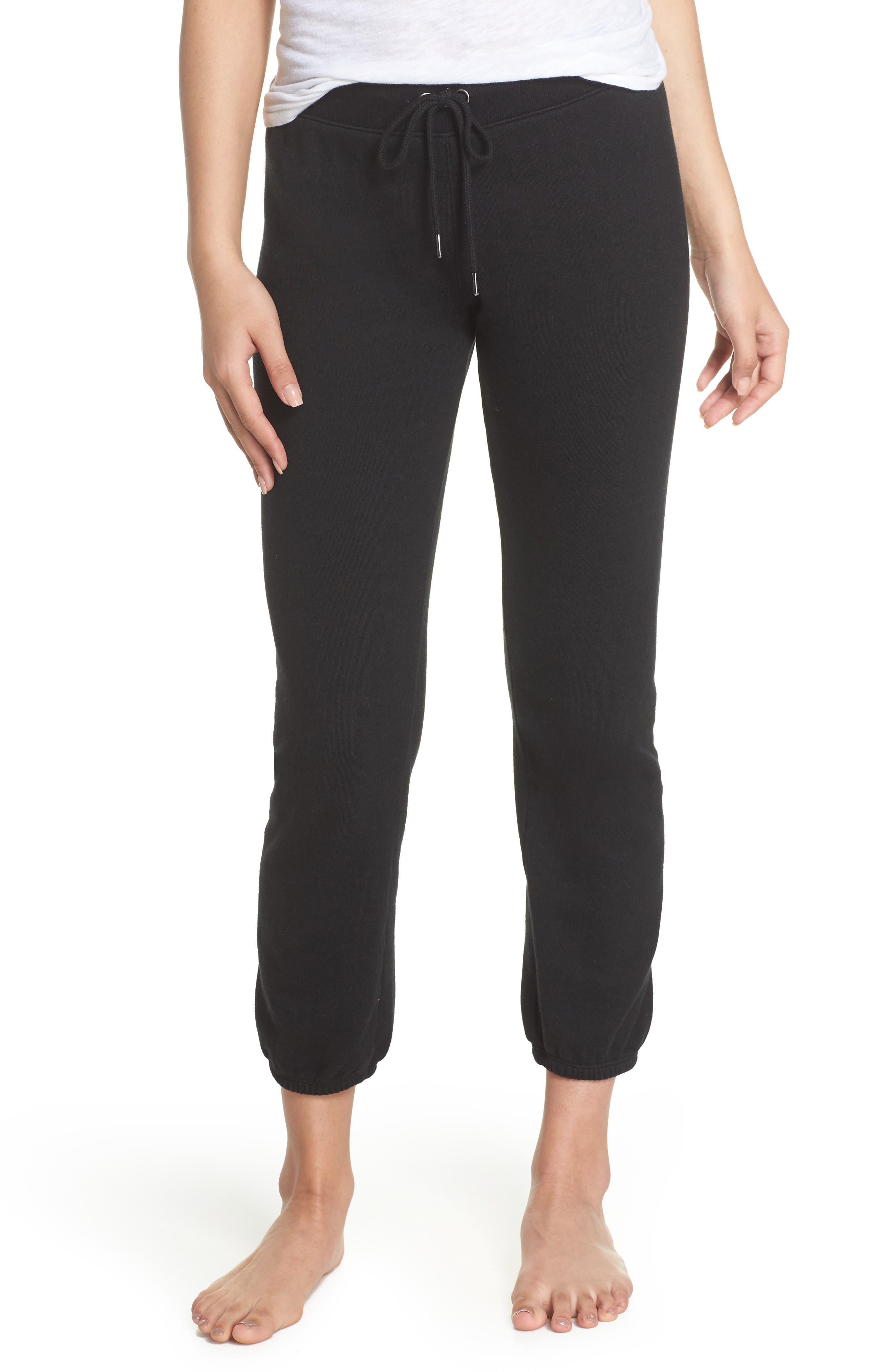 Loung Sweatpants,                             Main thumbnail 1, color,                             FADED BLACK