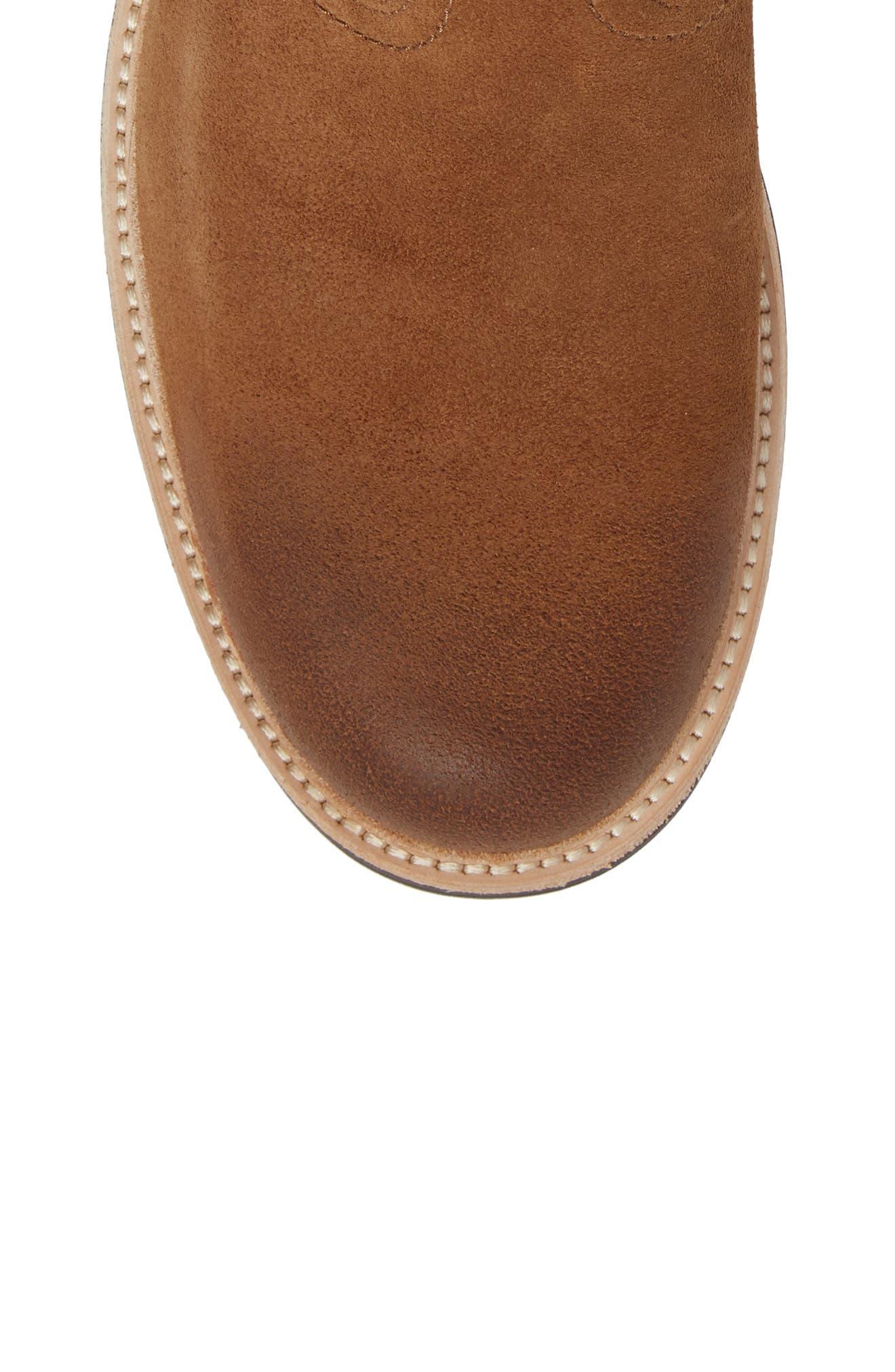 Jaren Zip Boot with Genuine Shearling,                             Alternate thumbnail 10, color,