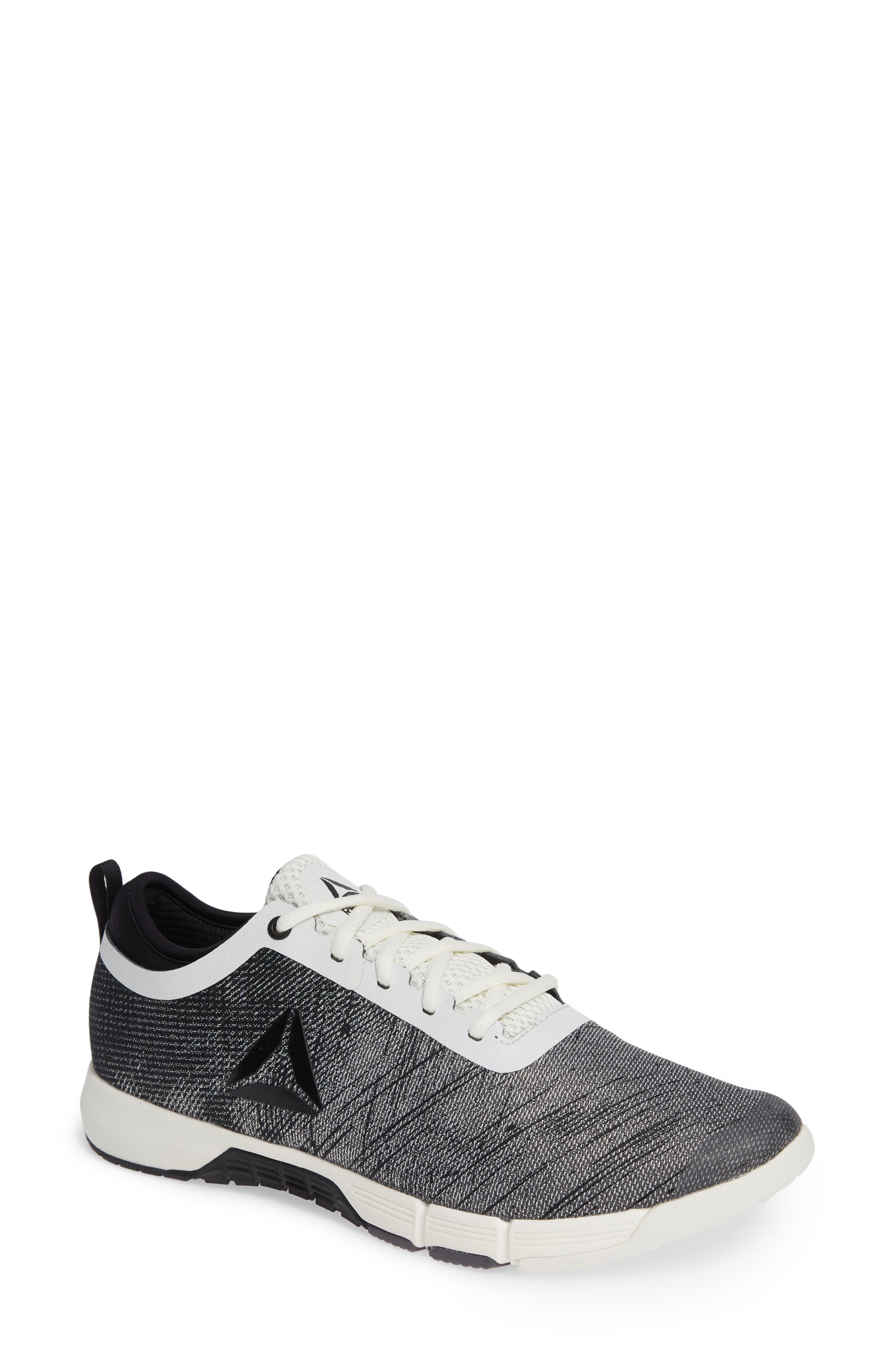 Speed Her TR Training Sneaker,                             Main thumbnail 1, color,                             CHALK/ BLACK/ ASH GREY