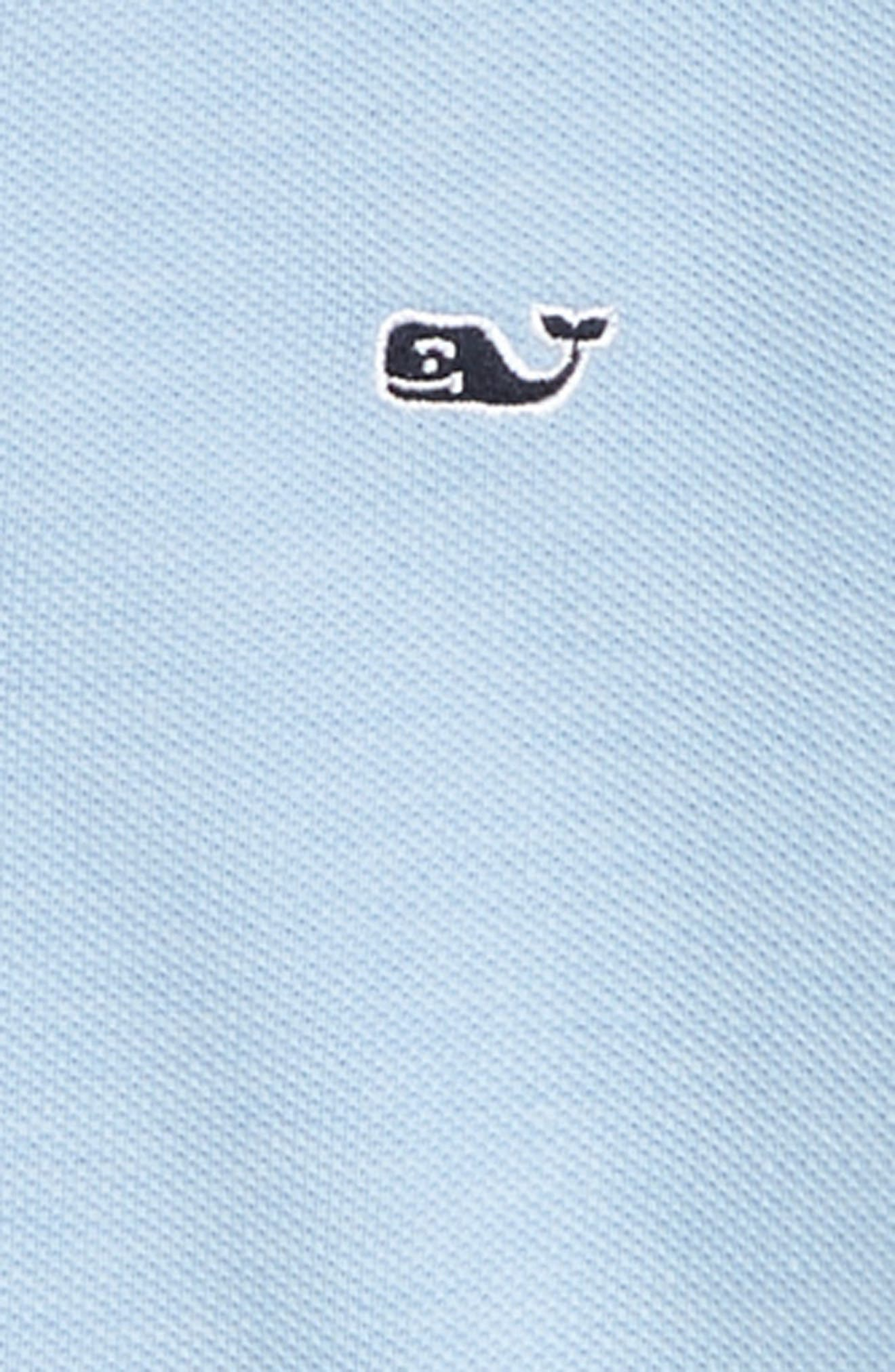 Stretch Piqué Polo,                             Alternate thumbnail 2, color,                             JAKE BLUE