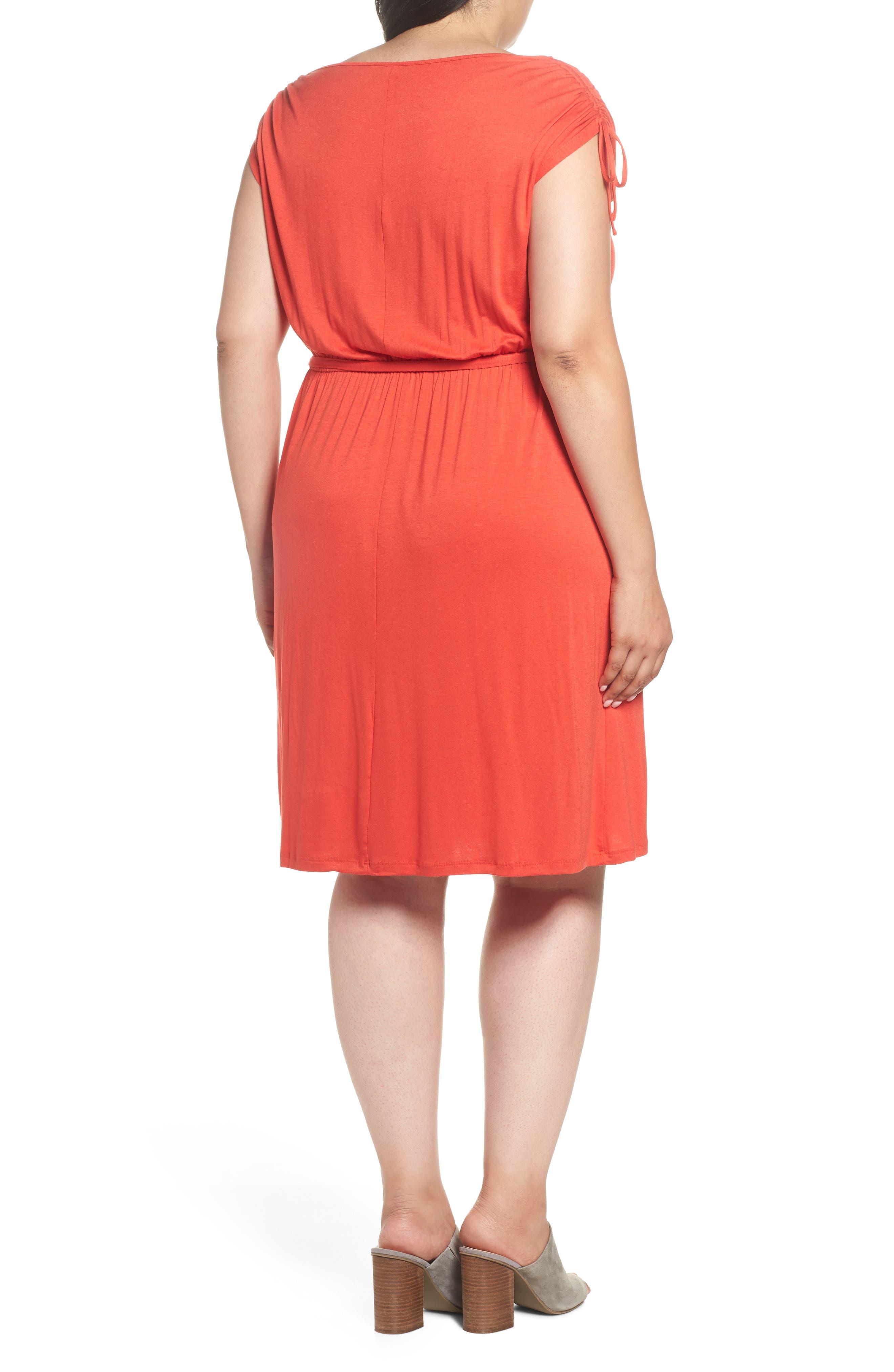 Jersey A-Line Dress,                             Alternate thumbnail 2, color,                             950