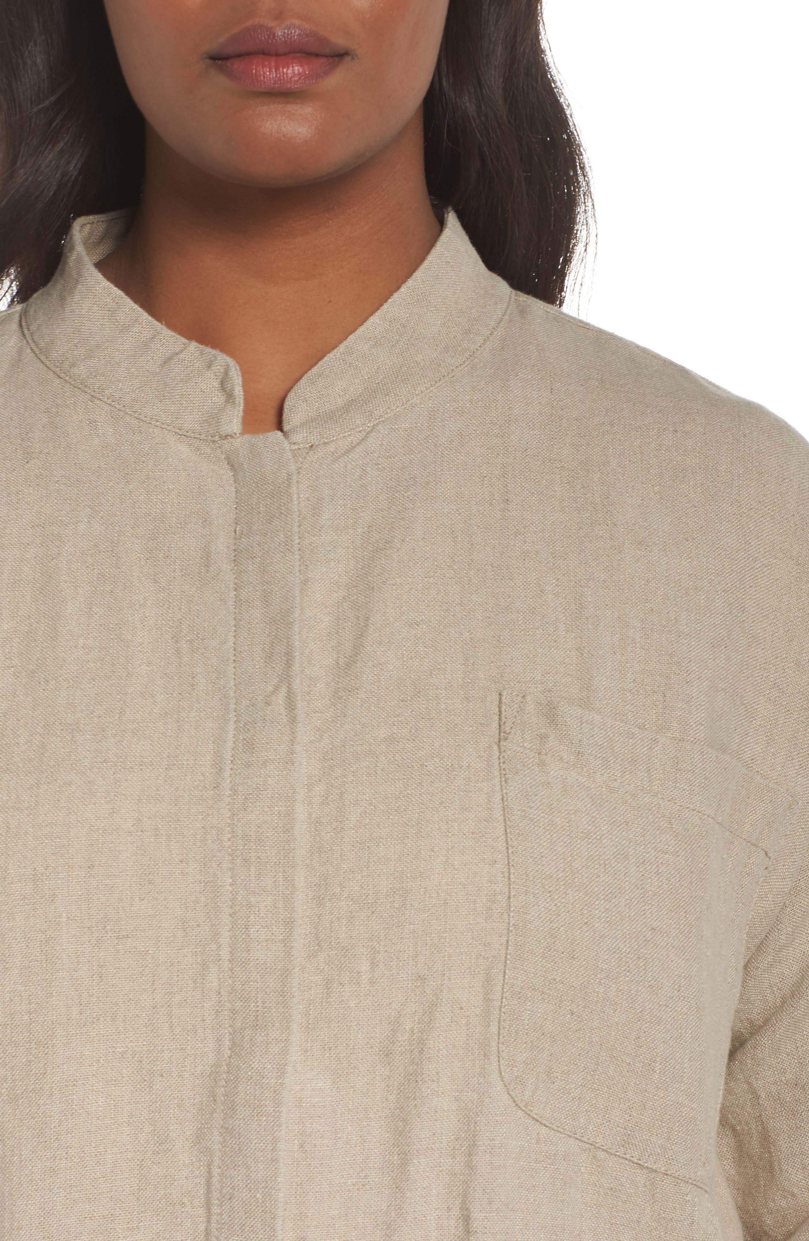 Organic Linen Jacket,                             Alternate thumbnail 4, color,                             251