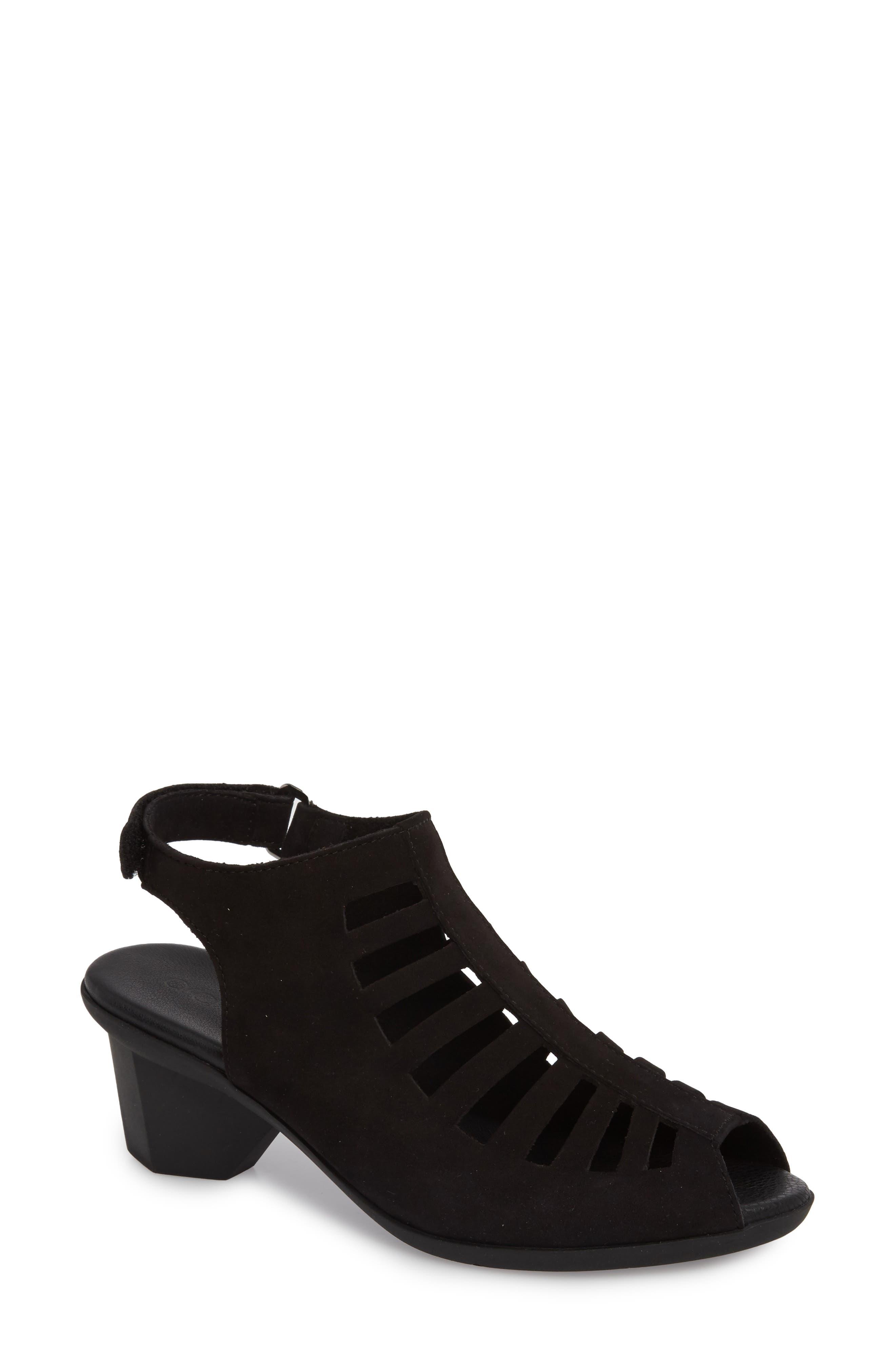 Enexor Sandal,                         Main,                         color, NOIR NUBUCK
