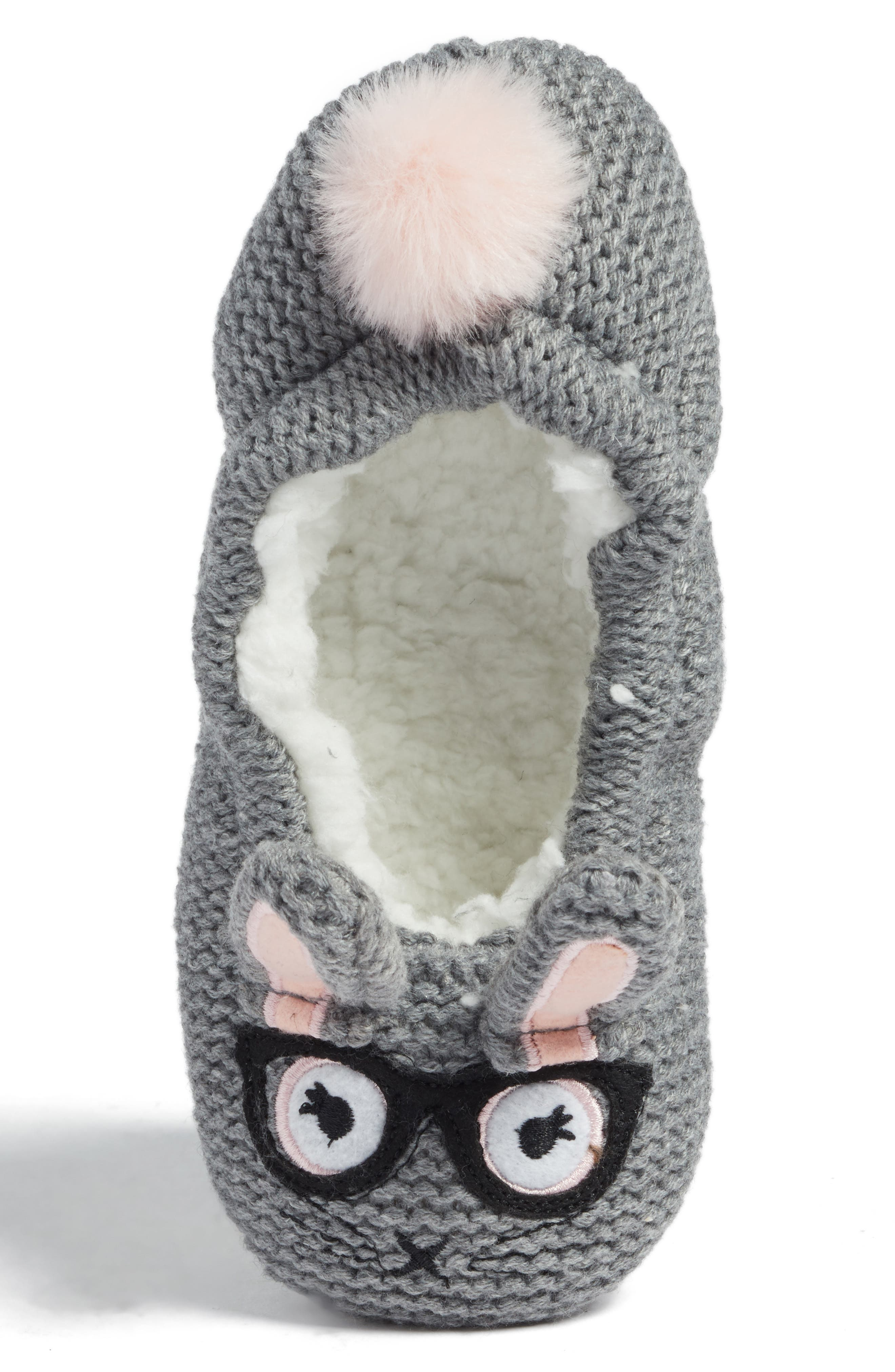 'Critter' Slipper,                             Alternate thumbnail 5, color,                             020