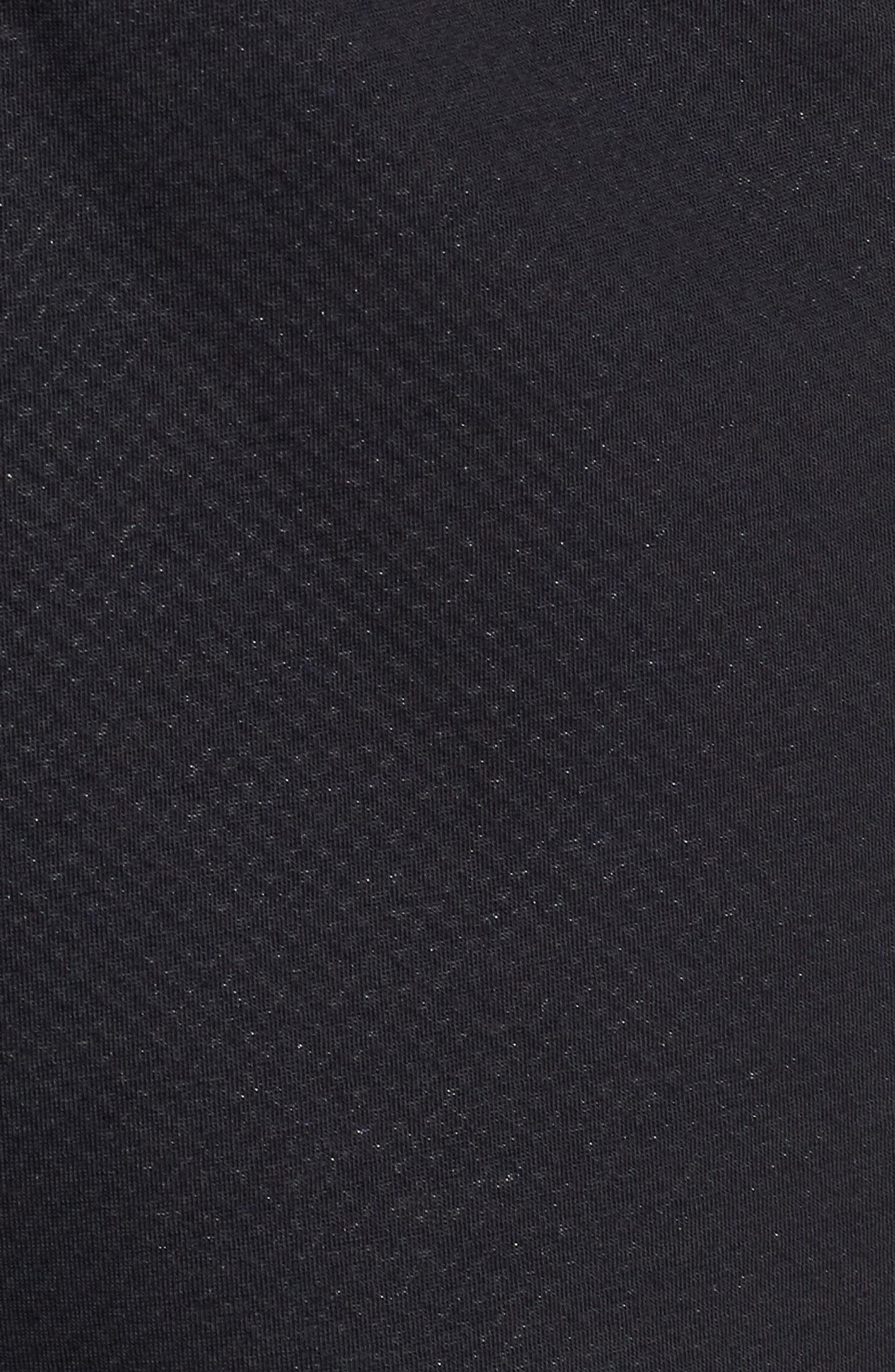 Unstoppable Swacket Training Pants,                             Alternate thumbnail 5, color,                             BLACK FULL HEATHER/ BLACK
