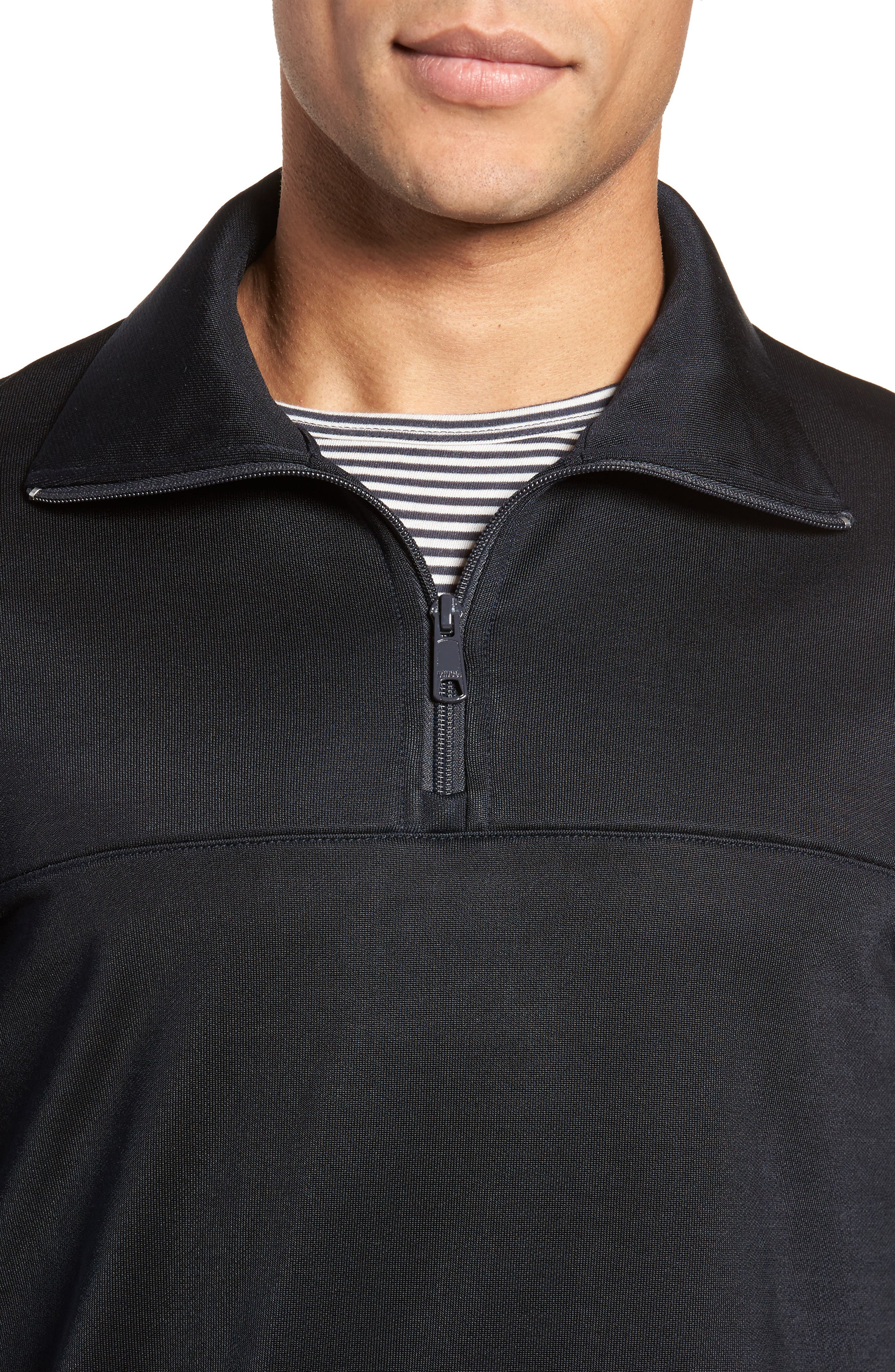 Quarter Zip Pullover,                             Alternate thumbnail 8, color,