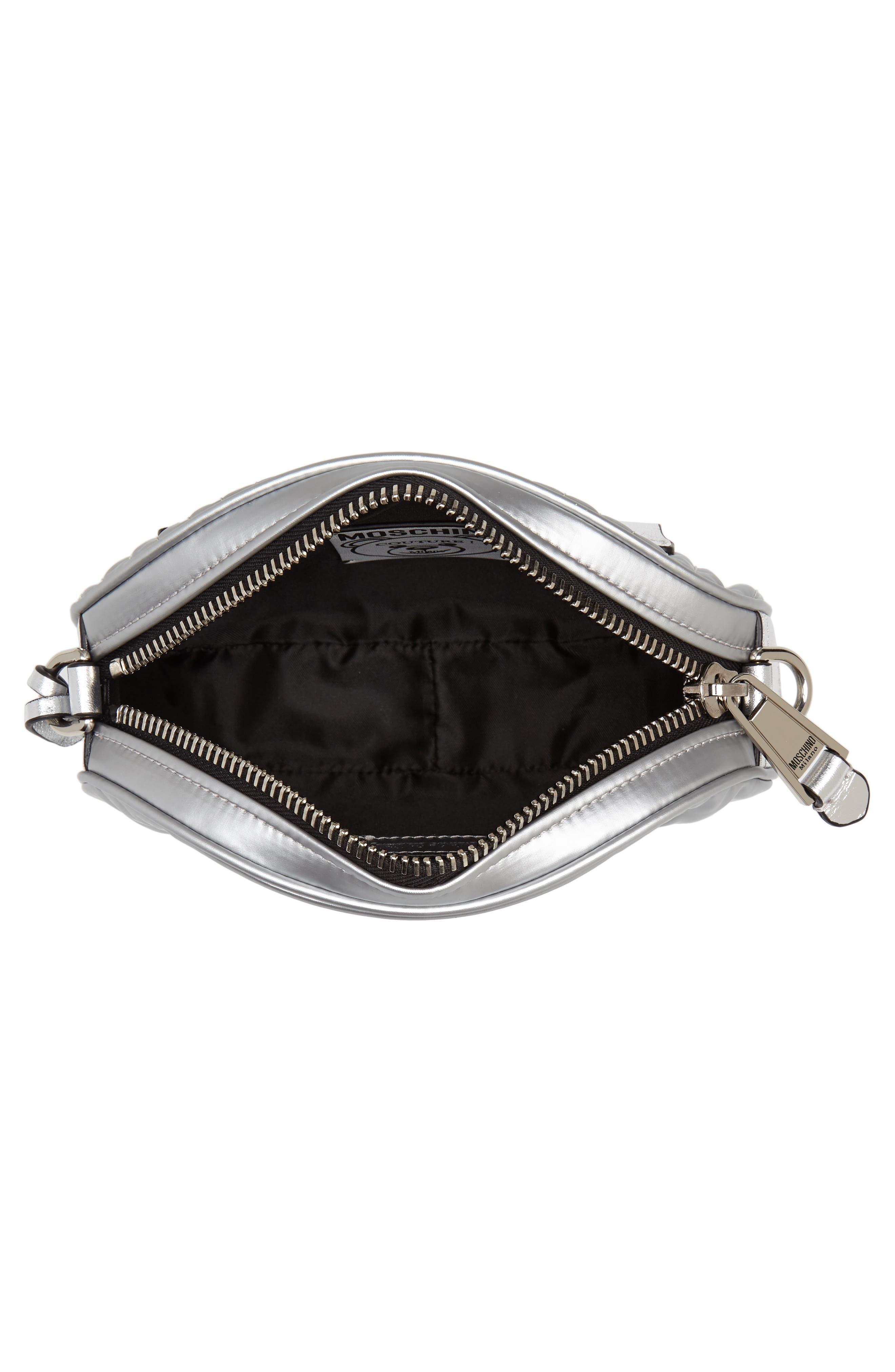 Silver Teddy Belt Bag,                             Alternate thumbnail 5, color,                             045