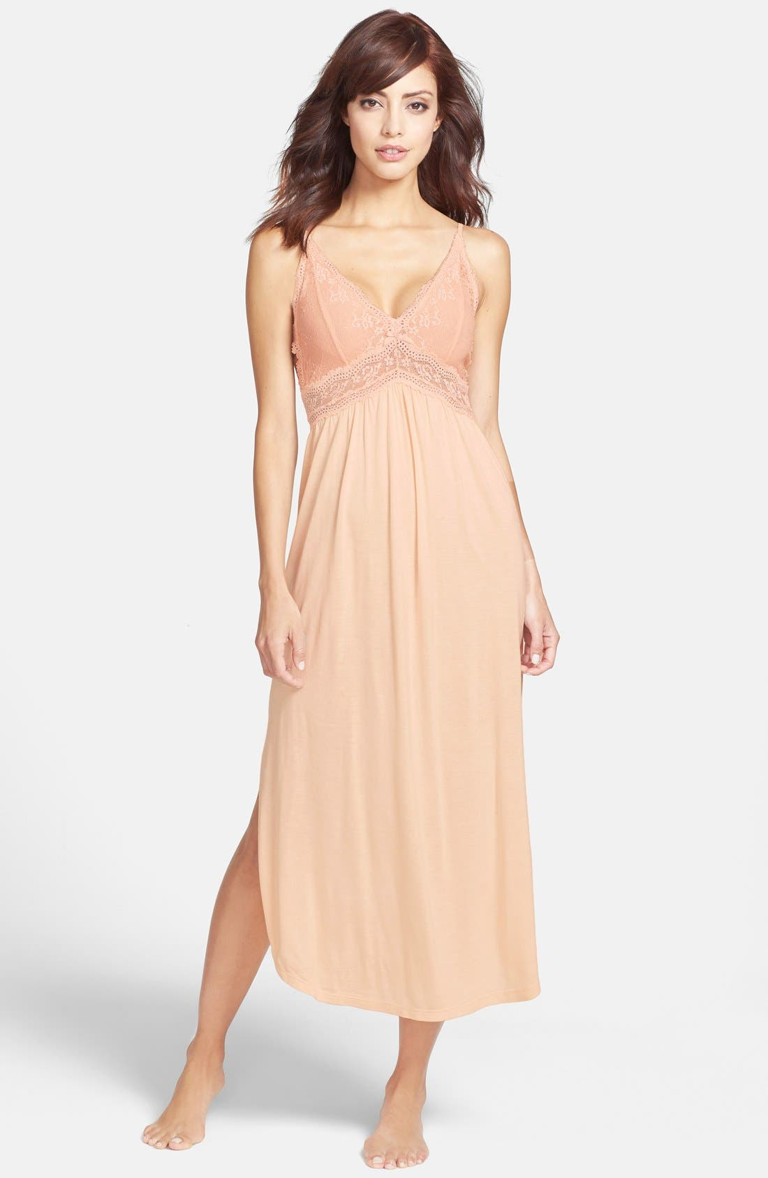 'Colette' Nightgown,                             Main thumbnail 6, color,