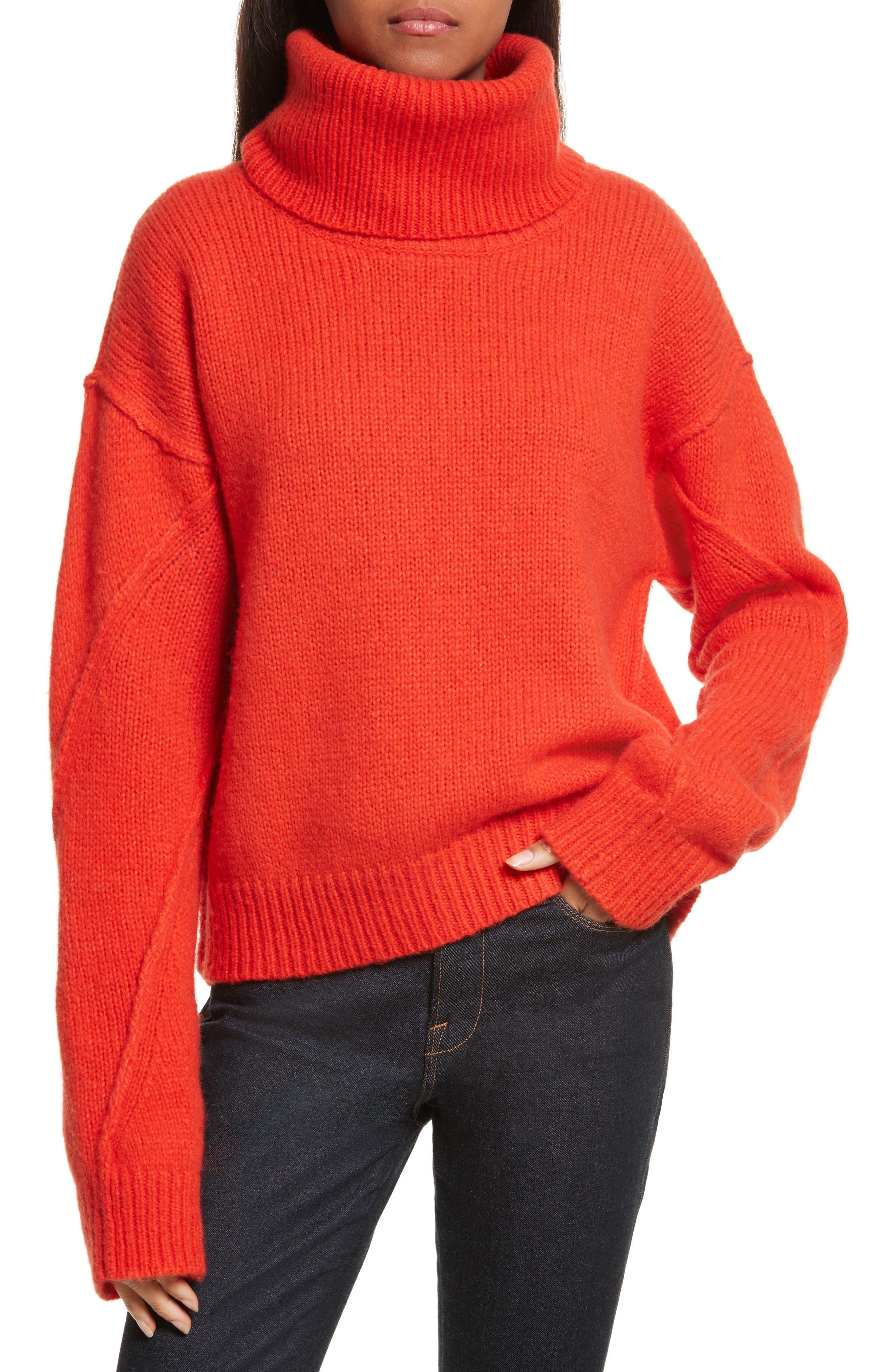Eva Sweater with Removable Turtleneck,                             Main thumbnail 2, color,