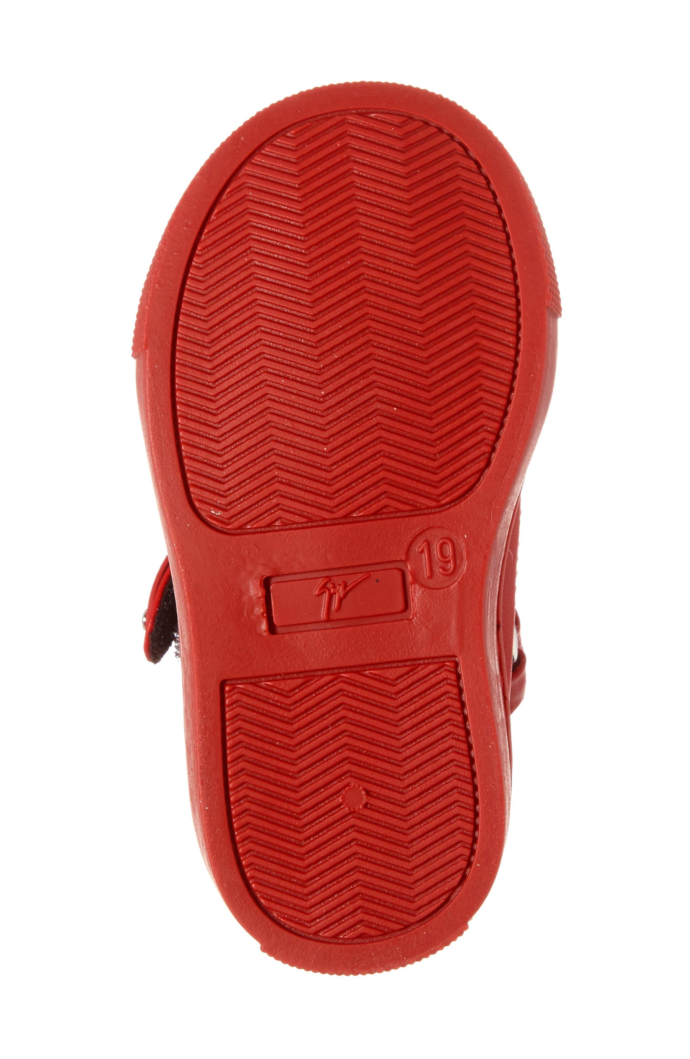 Taylor Junior High Top Sneaker,                             Alternate thumbnail 4, color,                             600