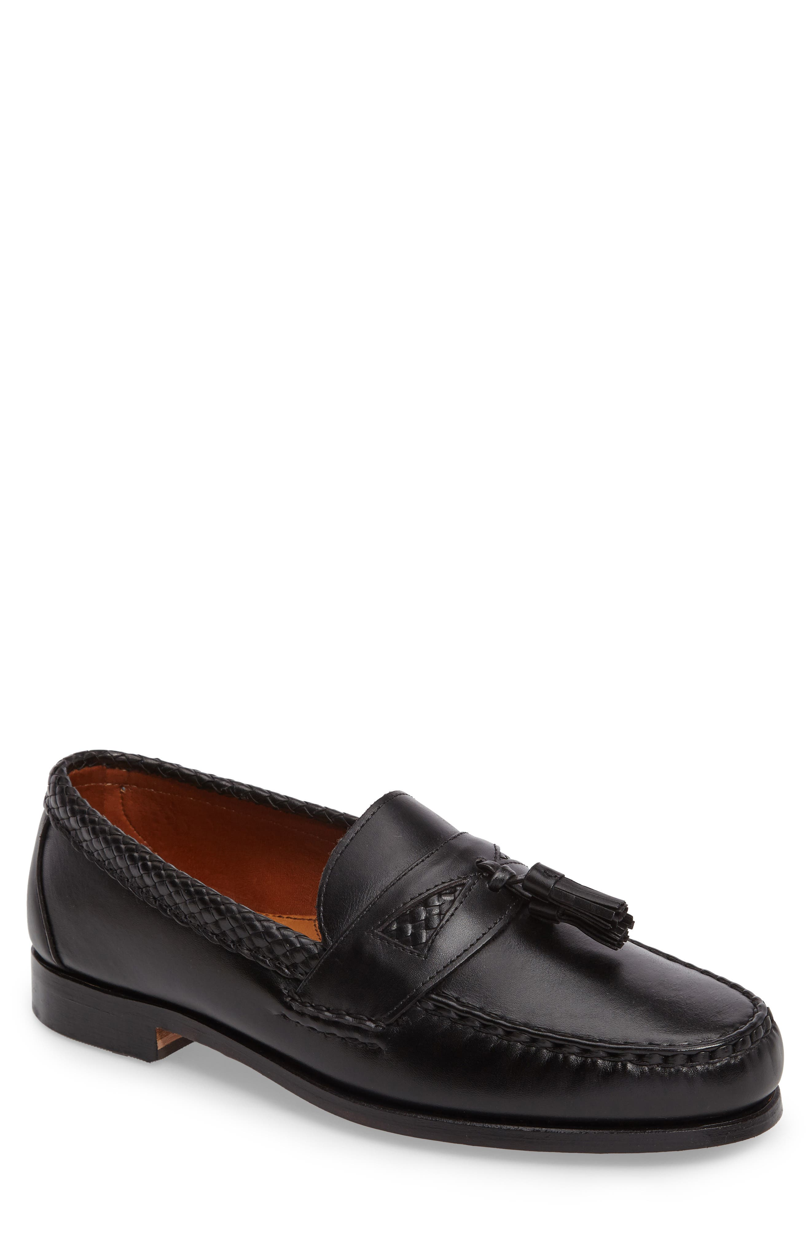 'Maxfield' Loafer,                         Main,                         color, BLACK