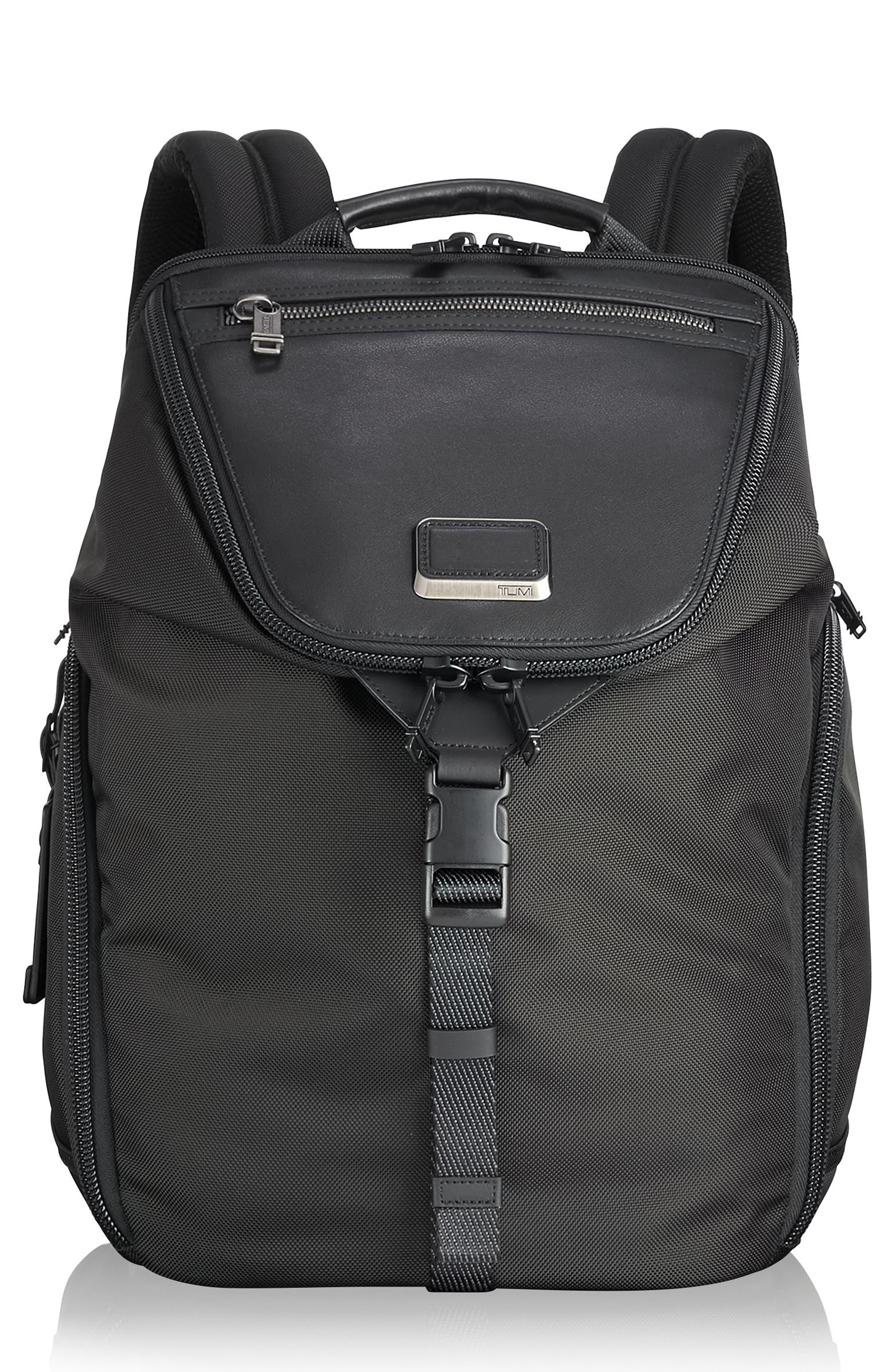TUMI,                             Alpha Bravo - Willow Backpack,                             Main thumbnail 1, color,                             001