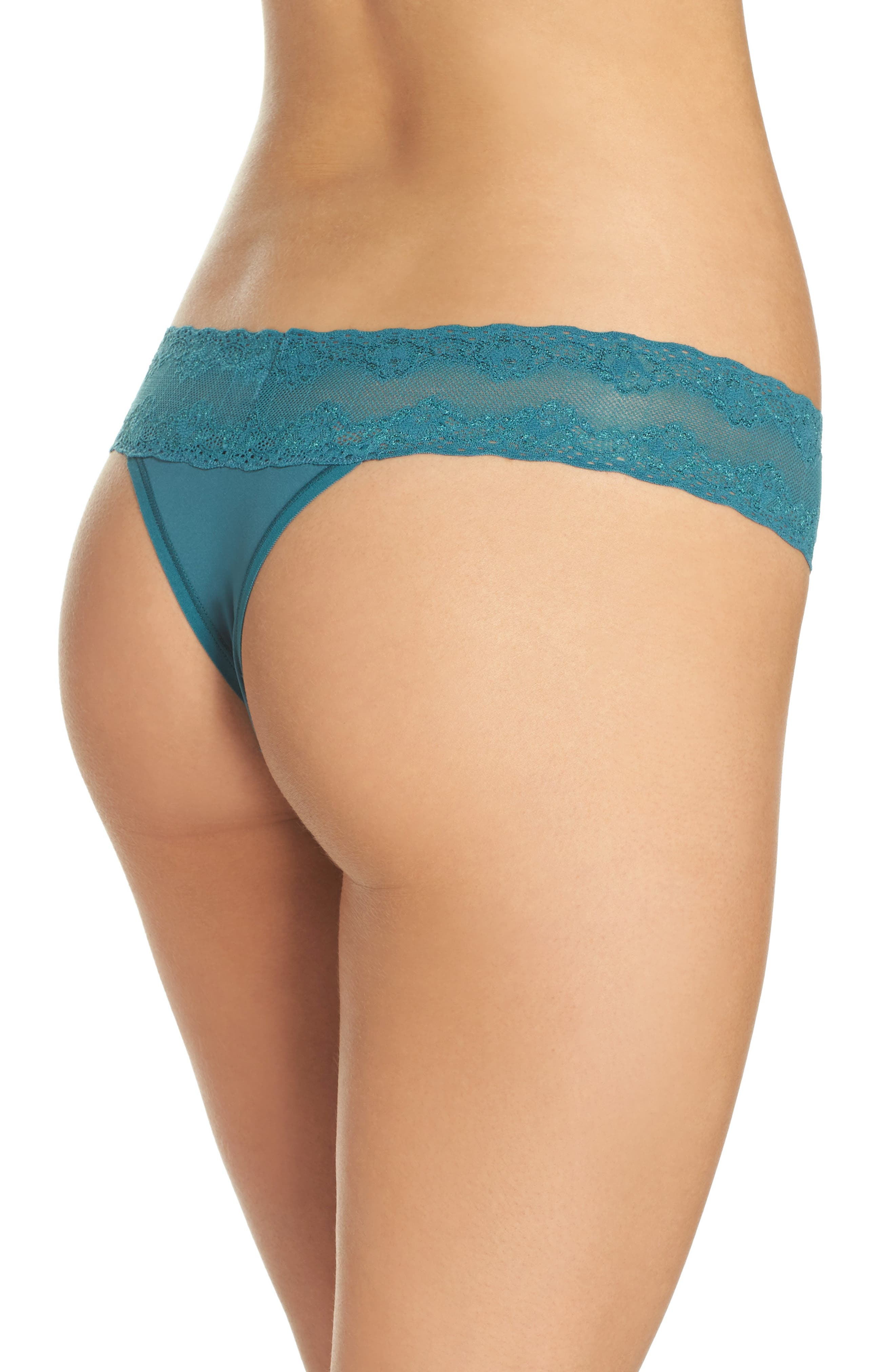 Bliss Perfection Thong,                             Alternate thumbnail 112, color,