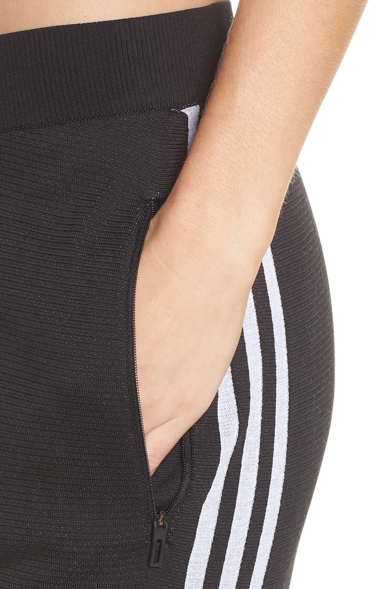 ID Striker Knit Pants,                             Alternate thumbnail 4, color,                             BLACK