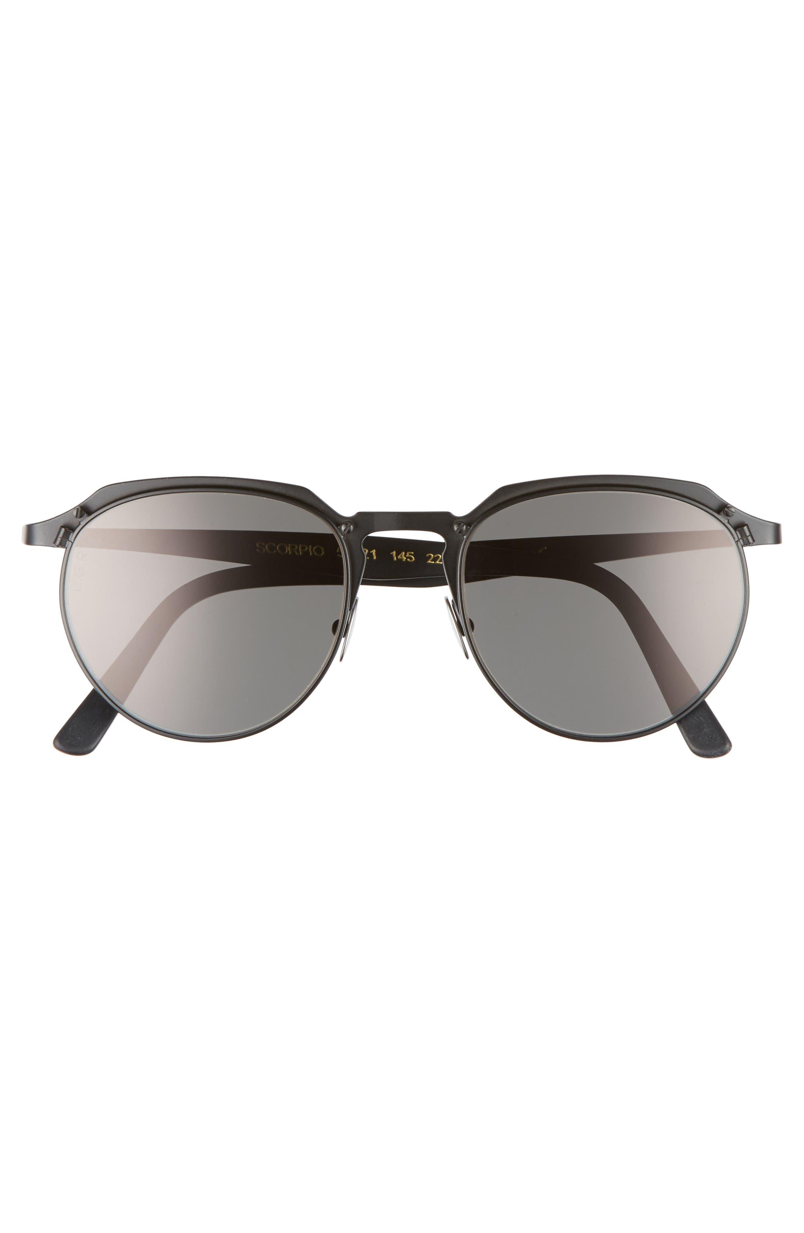 Scorpio 52mm Sunglasses,                             Alternate thumbnail 2, color,                             001