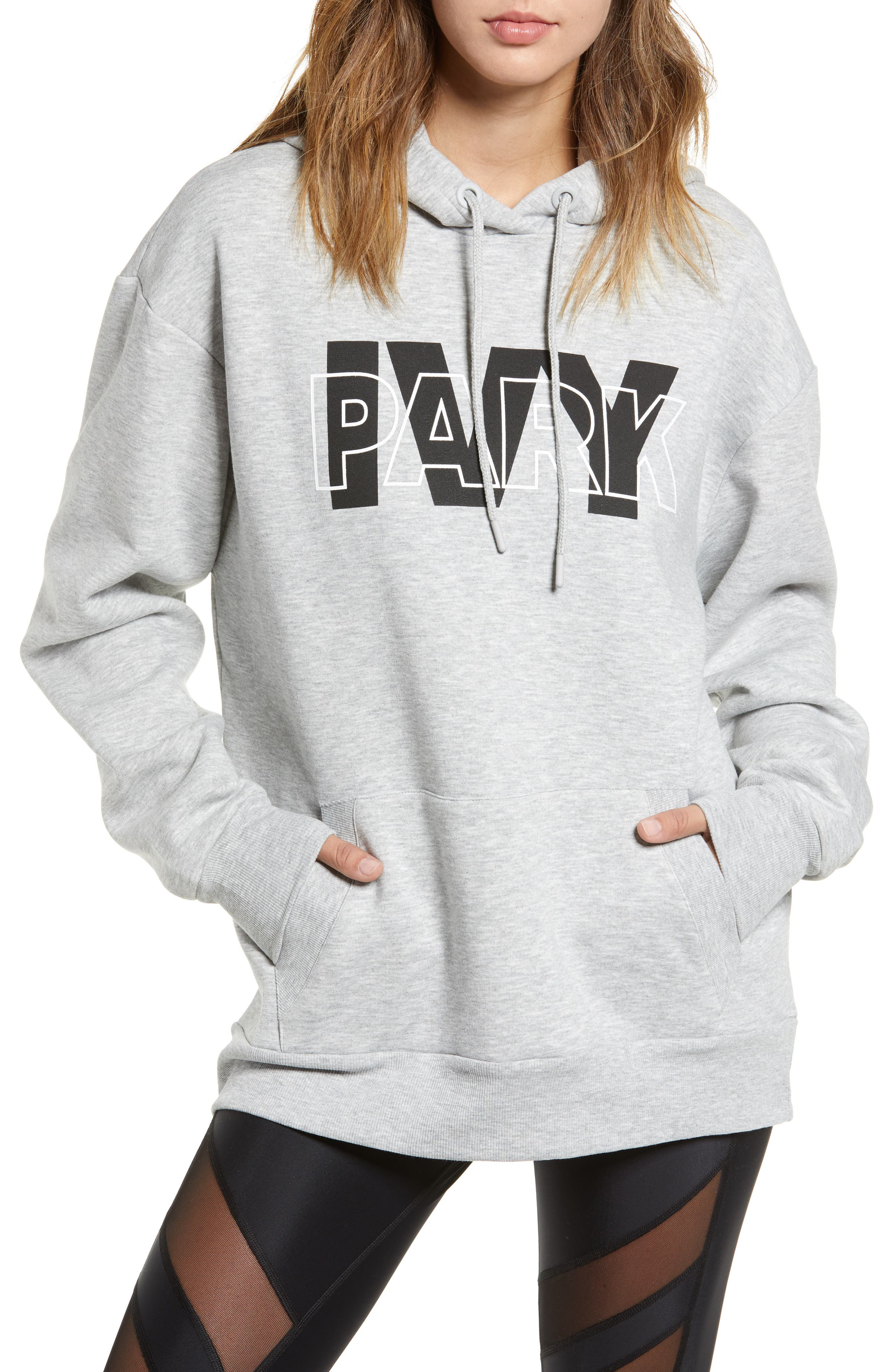 Layer Logo Graphic Hoodie,                         Main,                         color, 020