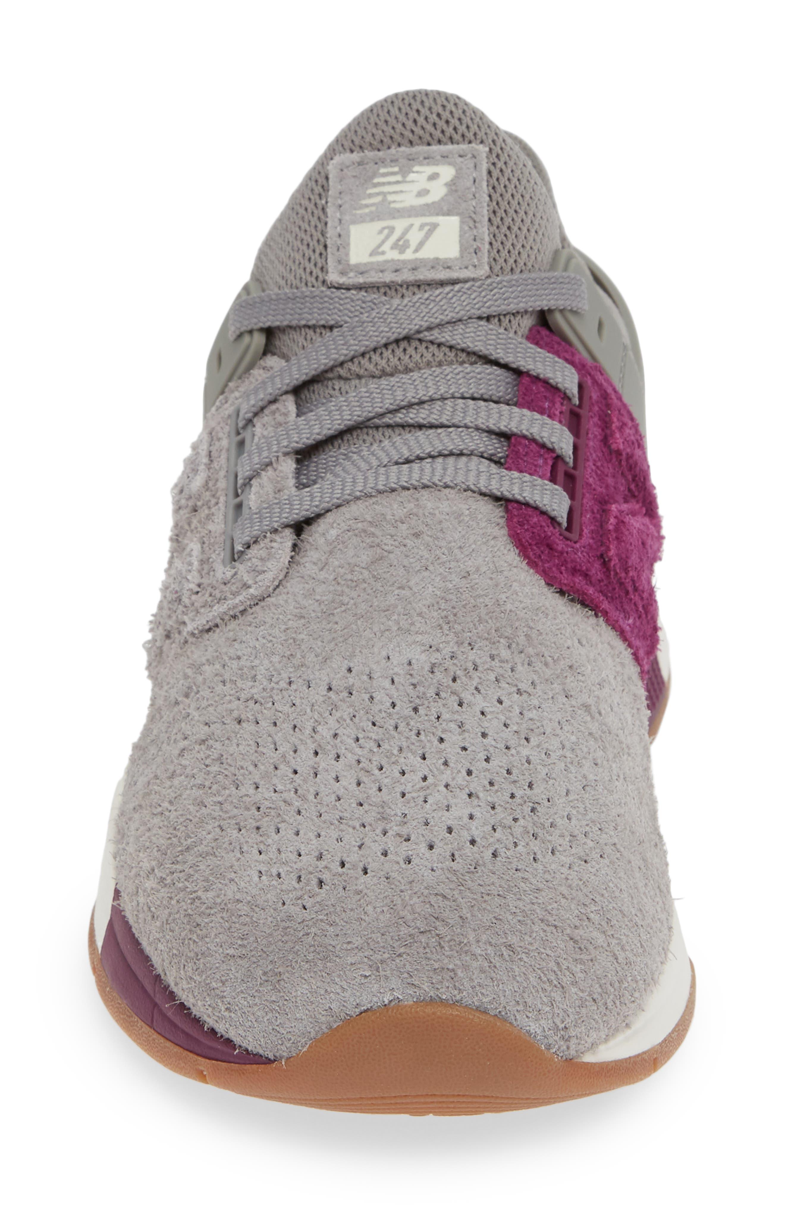247 Suede Sneaker,                             Alternate thumbnail 4, color,                             MARBLEHEAD SUEDE