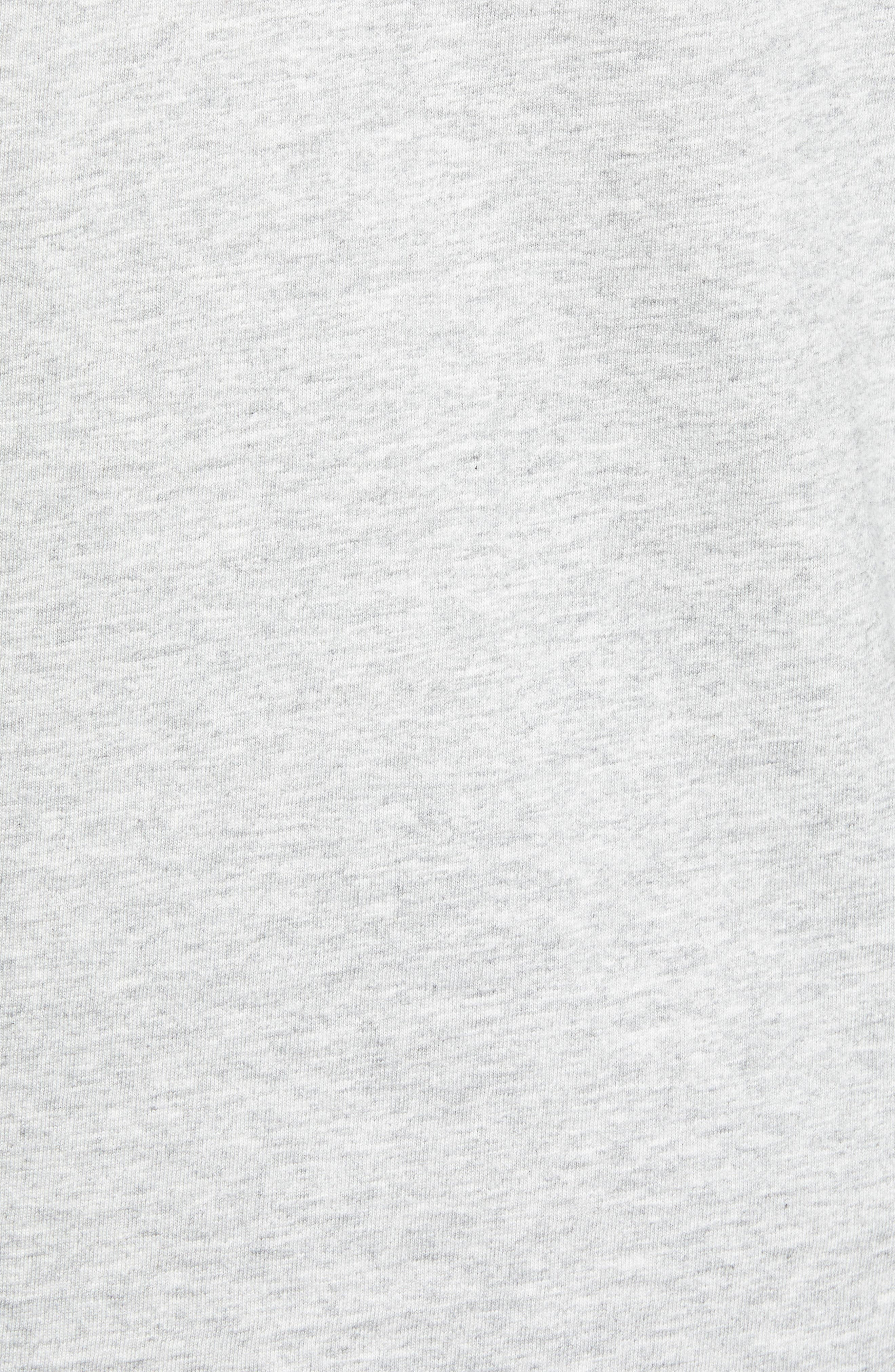 Everyday Pocket T-Shirt,                             Alternate thumbnail 5, color,                             GREY HEATHER
