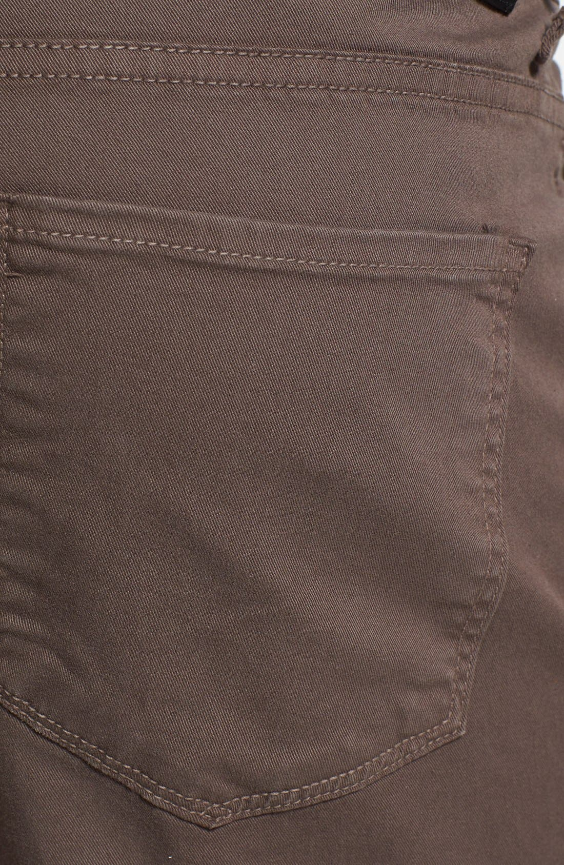Normandie Slim Straight Leg Twill Pants,                             Alternate thumbnail 25, color,