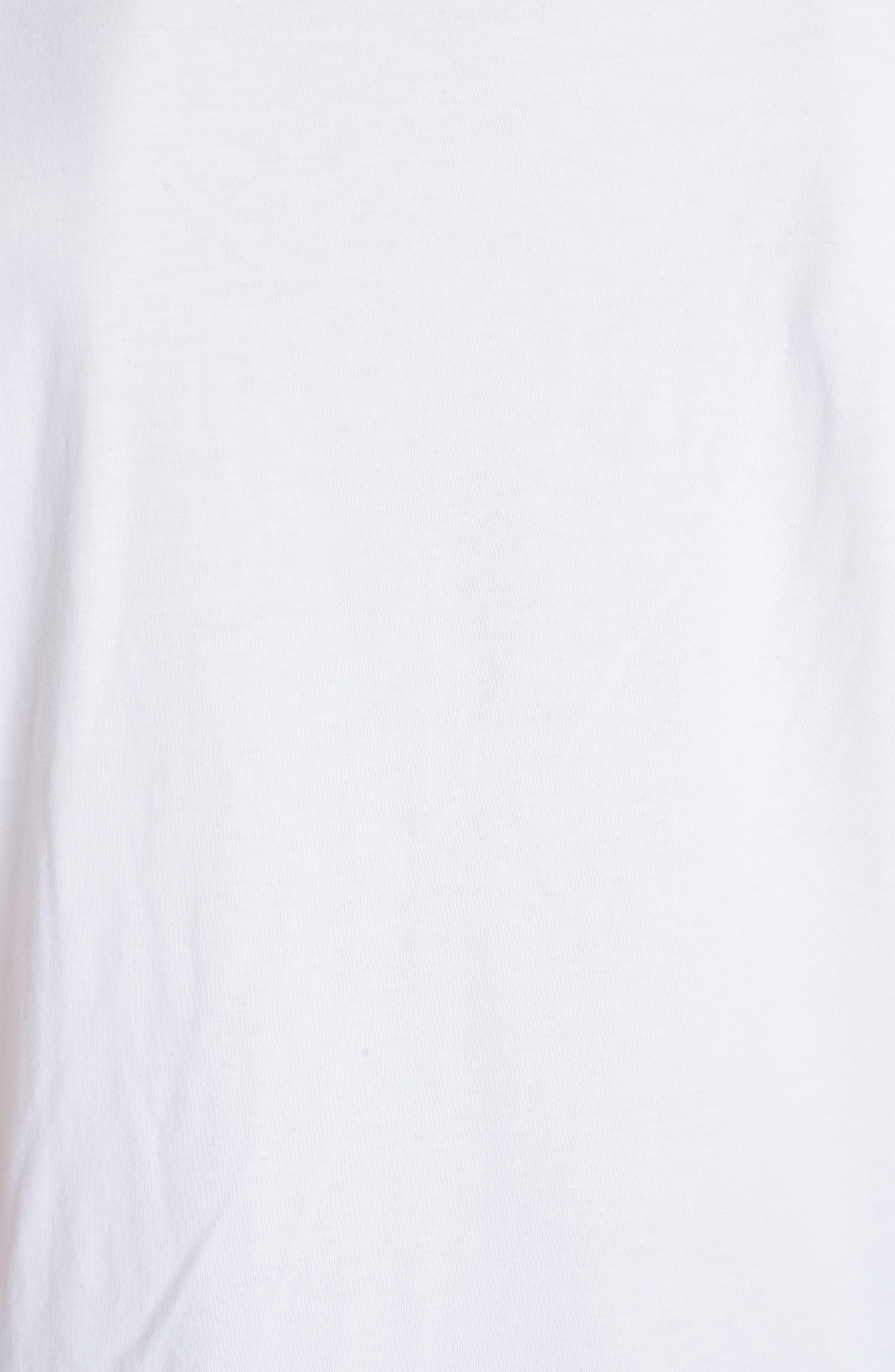 Cursive Logo Graphic T-Shirt,                             Alternate thumbnail 9, color,