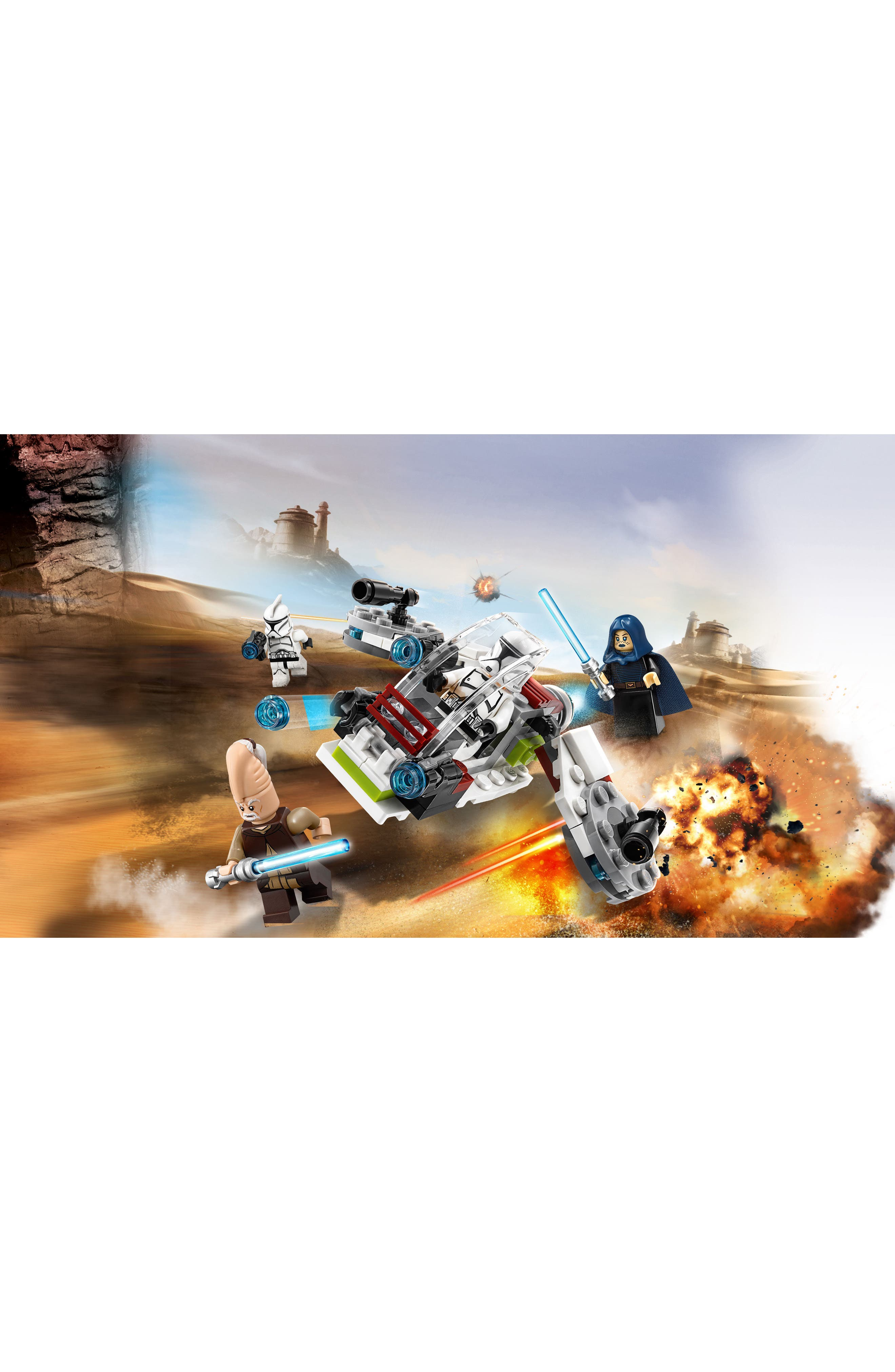 Jedi<sup>™</sup> and Clone Troopers<sup>™</sup> Battle Pack - 75206,                             Alternate thumbnail 8, color,                             100