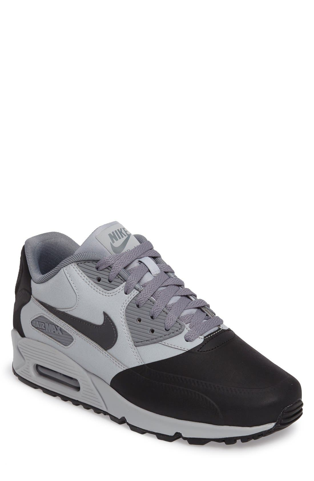 Air Max 90 Premium Sneaker,                             Main thumbnail 3, color,