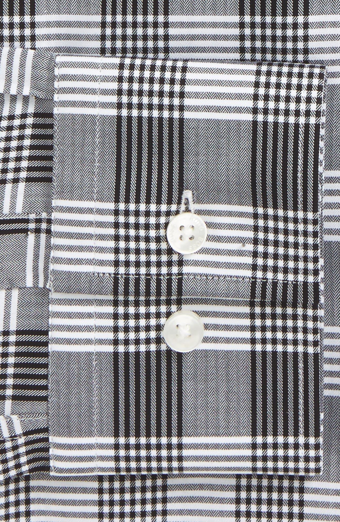 Jason Slim Fit Plaid Dress Shirt,                             Alternate thumbnail 2, color,                             020