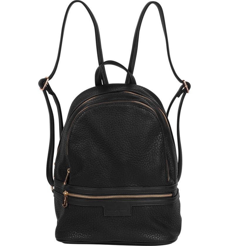 8a2b03d19e4 Urban Originals Jet Set Vegan Leather Backpack - Black   ModeSens