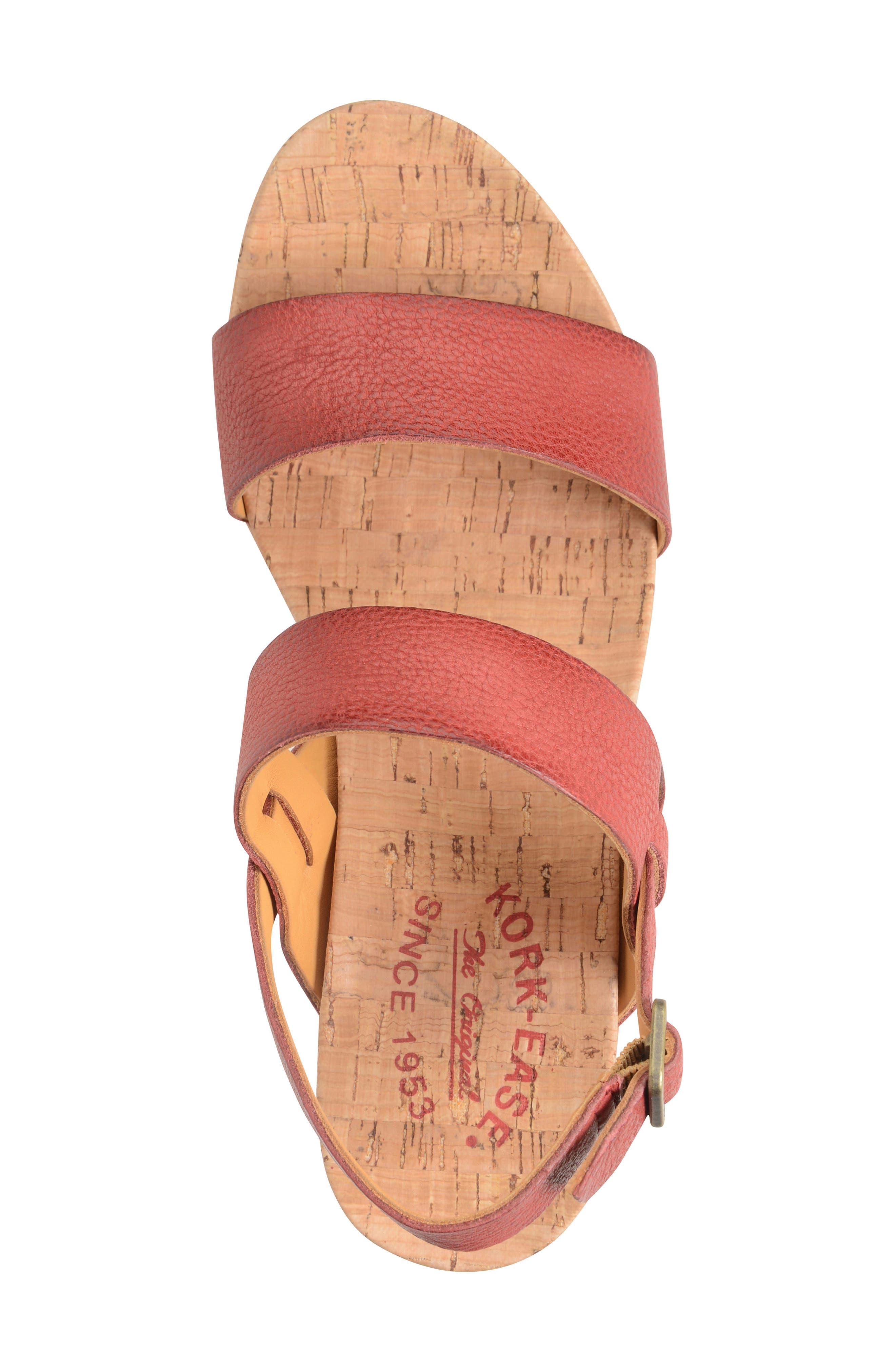 'Austin' Slingback Wedge Sandal,                             Alternate thumbnail 31, color,