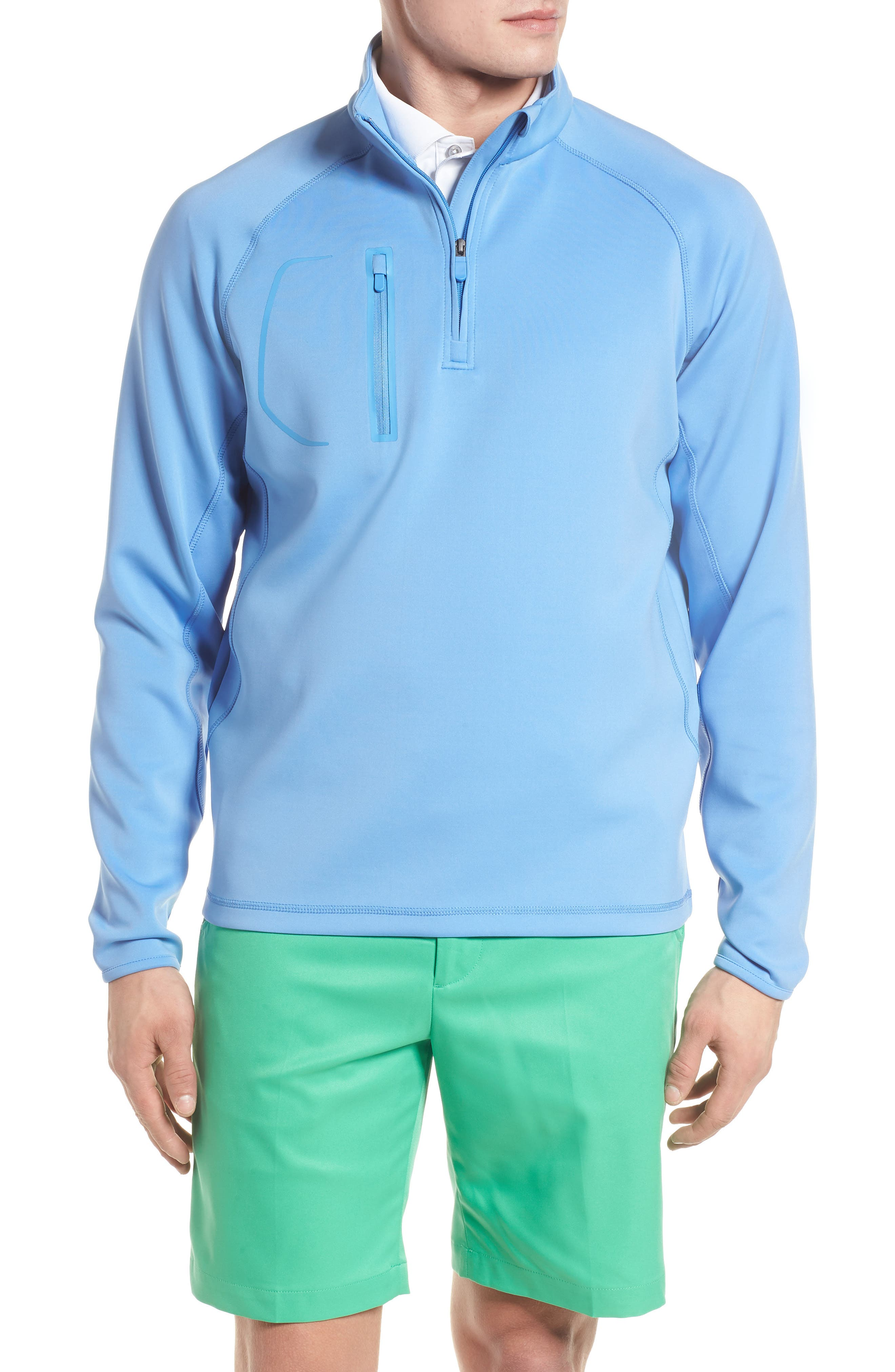 XH2O Crawford Stretch Quarter Zip Golf Pullover,                             Main thumbnail 1, color,