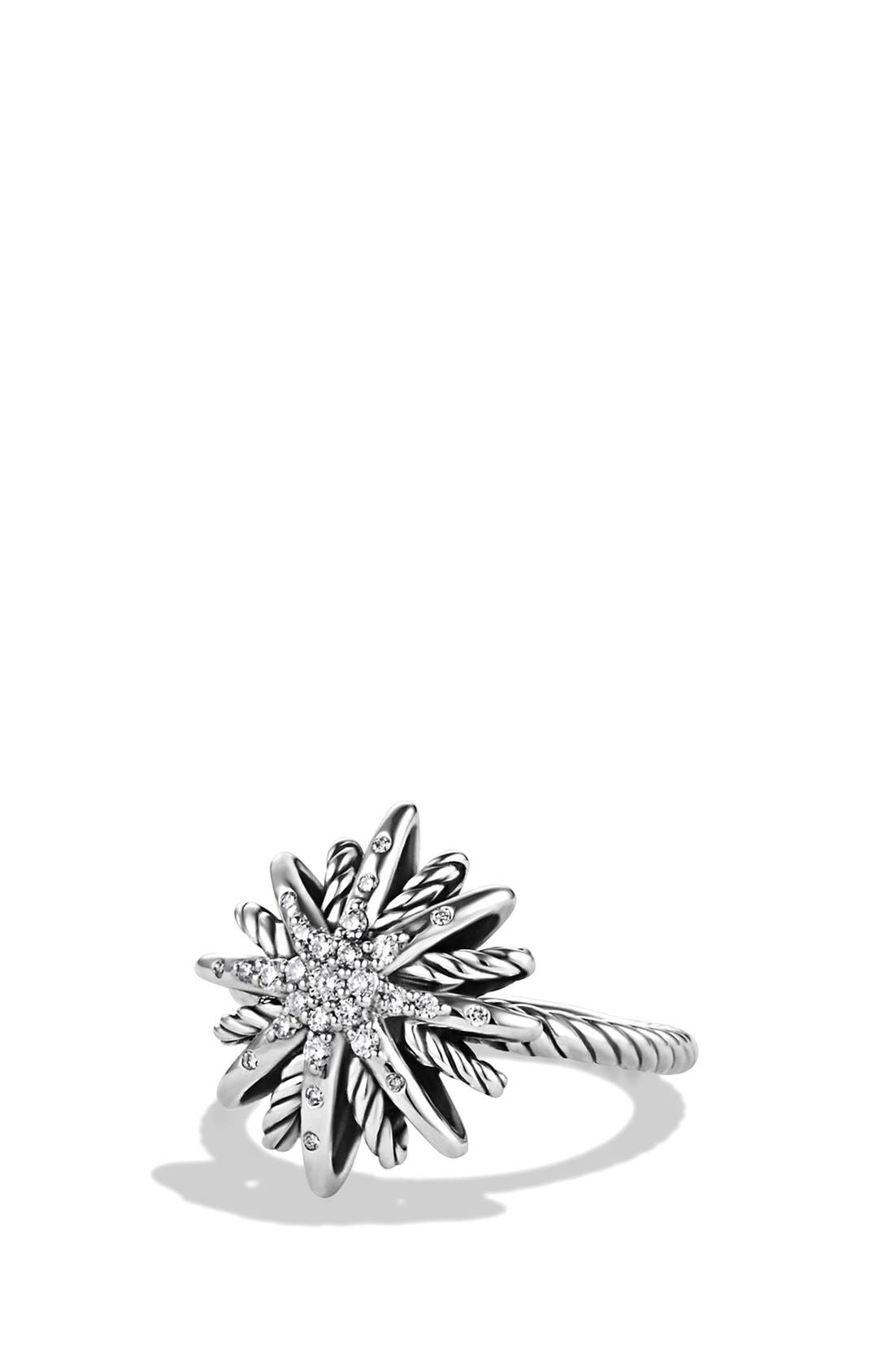 'Starburst' Ring with Diamonds,                             Main thumbnail 1, color,                             040