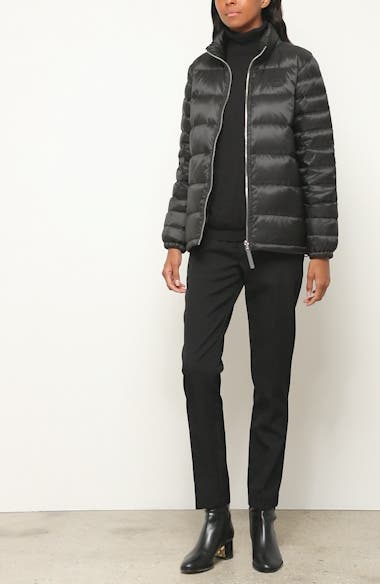 Smethwick Archive Logo Quilted Down Puffer Coat, video thumbnail