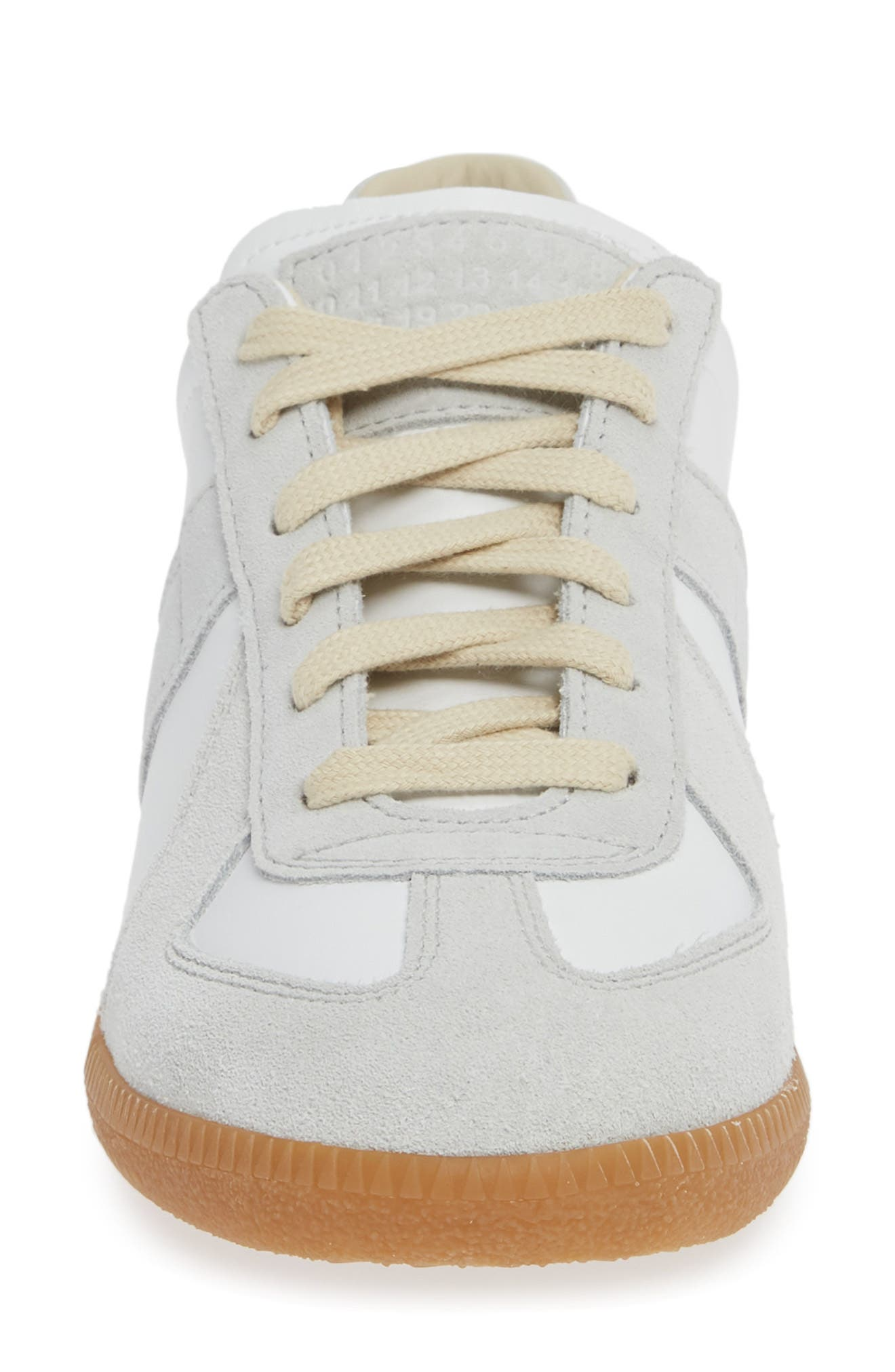 Replica Sneaker,                             Alternate thumbnail 4, color,                             WHITE