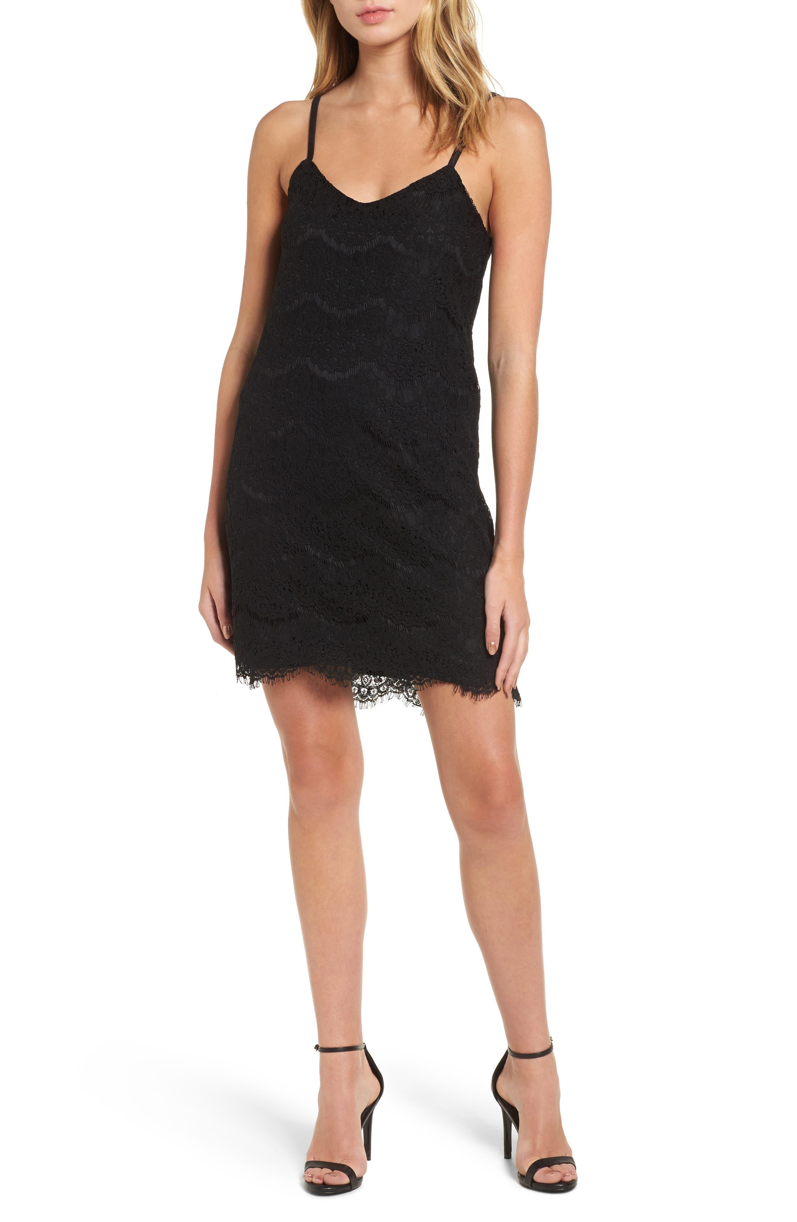 Lace Slipdress,                         Main,                         color,