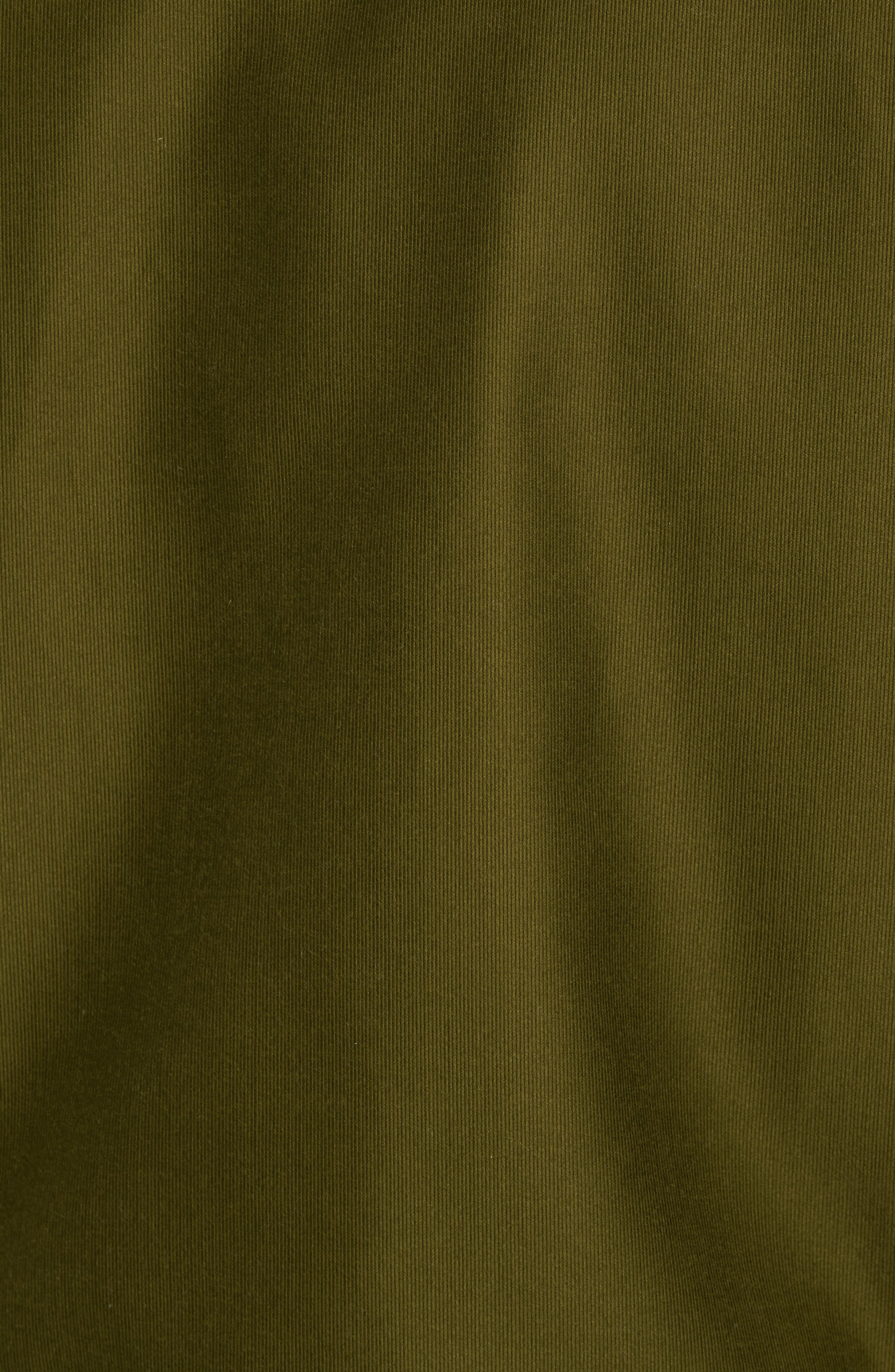 SCHOTT NYC,                             Faux Fur Collar Water-Repellent Corduroy Down Jacket,                             Alternate thumbnail 6, color,                             252