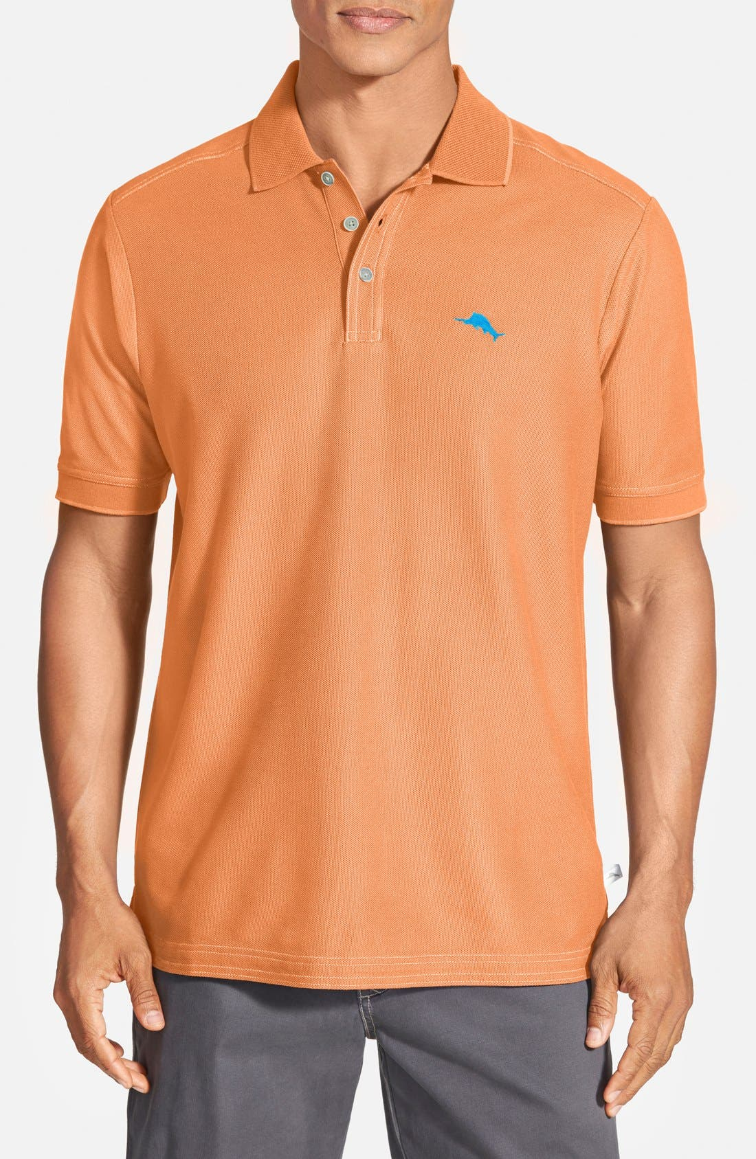 'The Emfielder' Original Fit Piqué Polo,                             Main thumbnail 113, color,