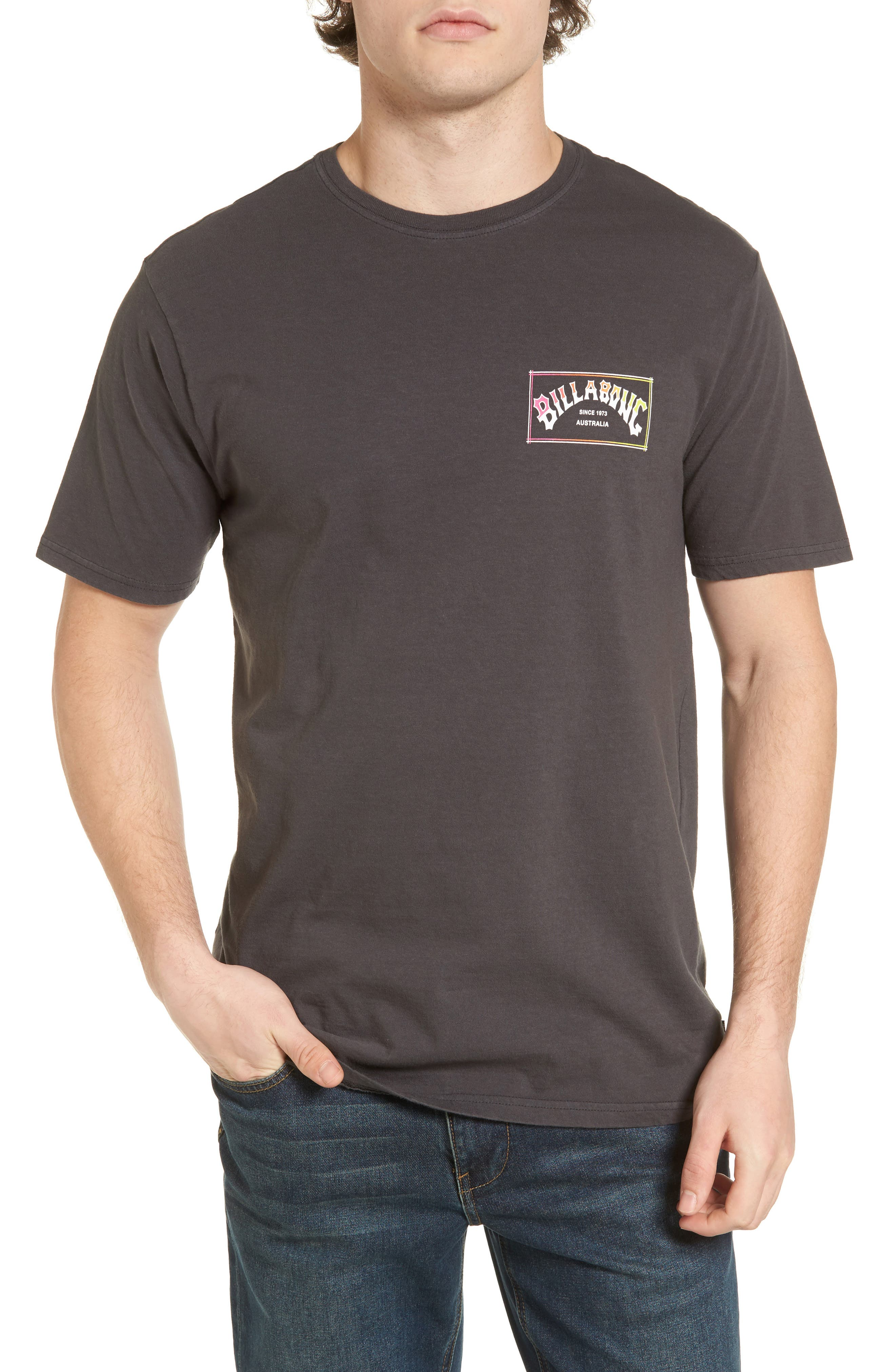 Boxed Arch T-Shirt,                         Main,                         color, 010