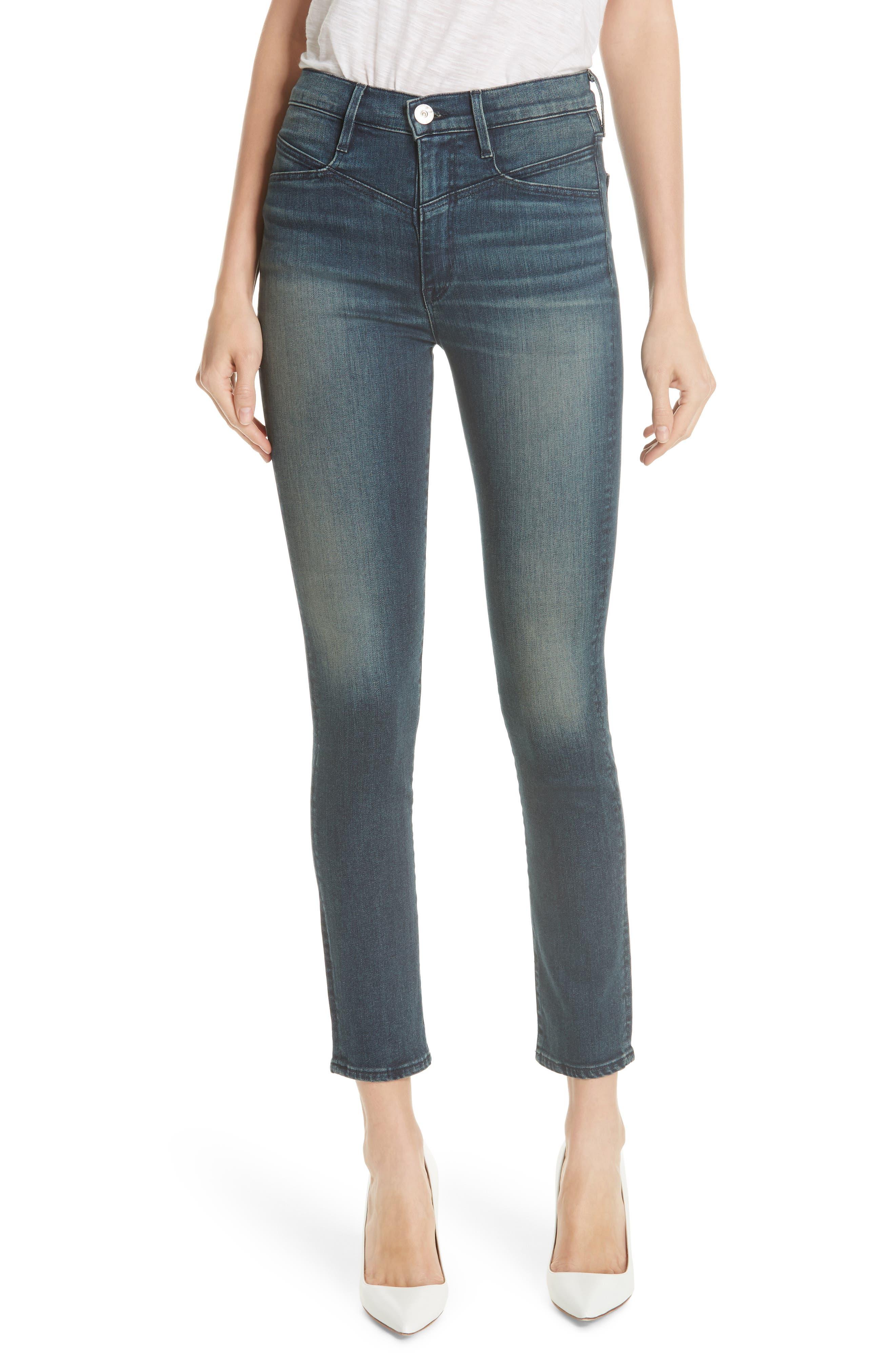 Higher Ground Jesse Straight Jeans in Lana Lana