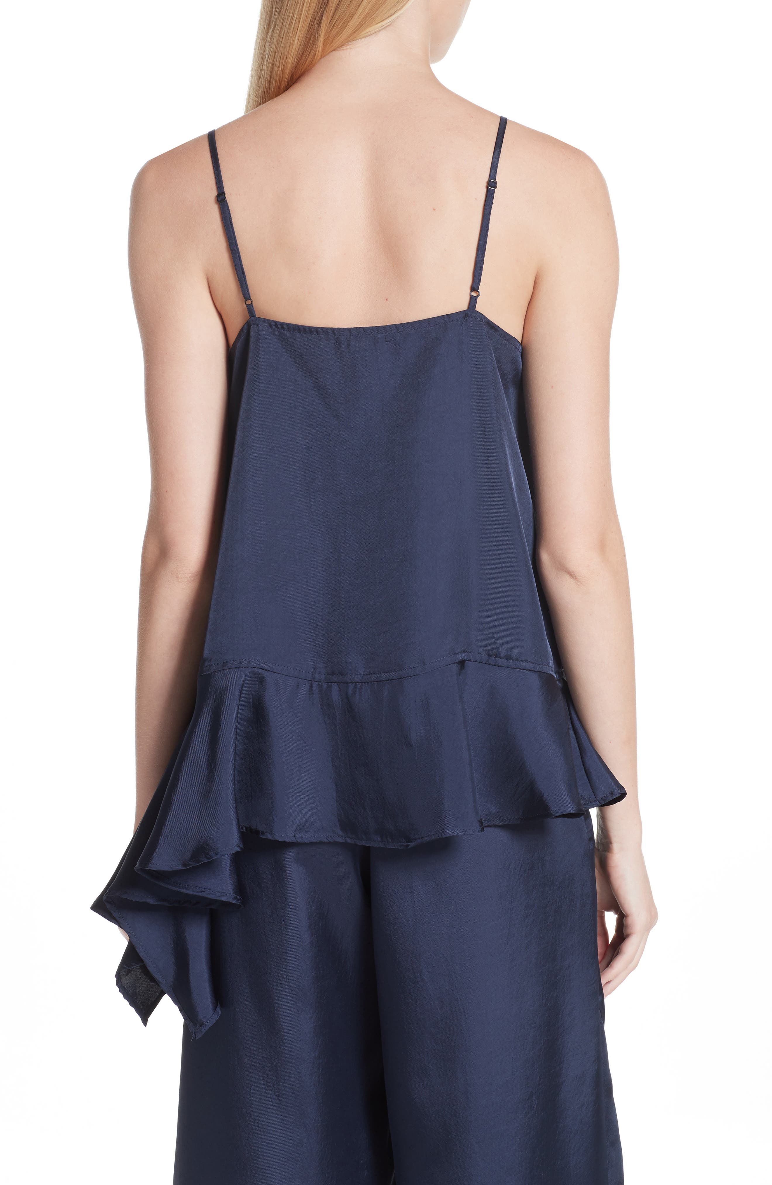 Asymmetrical Hem Camisole,                             Alternate thumbnail 2, color,                             401