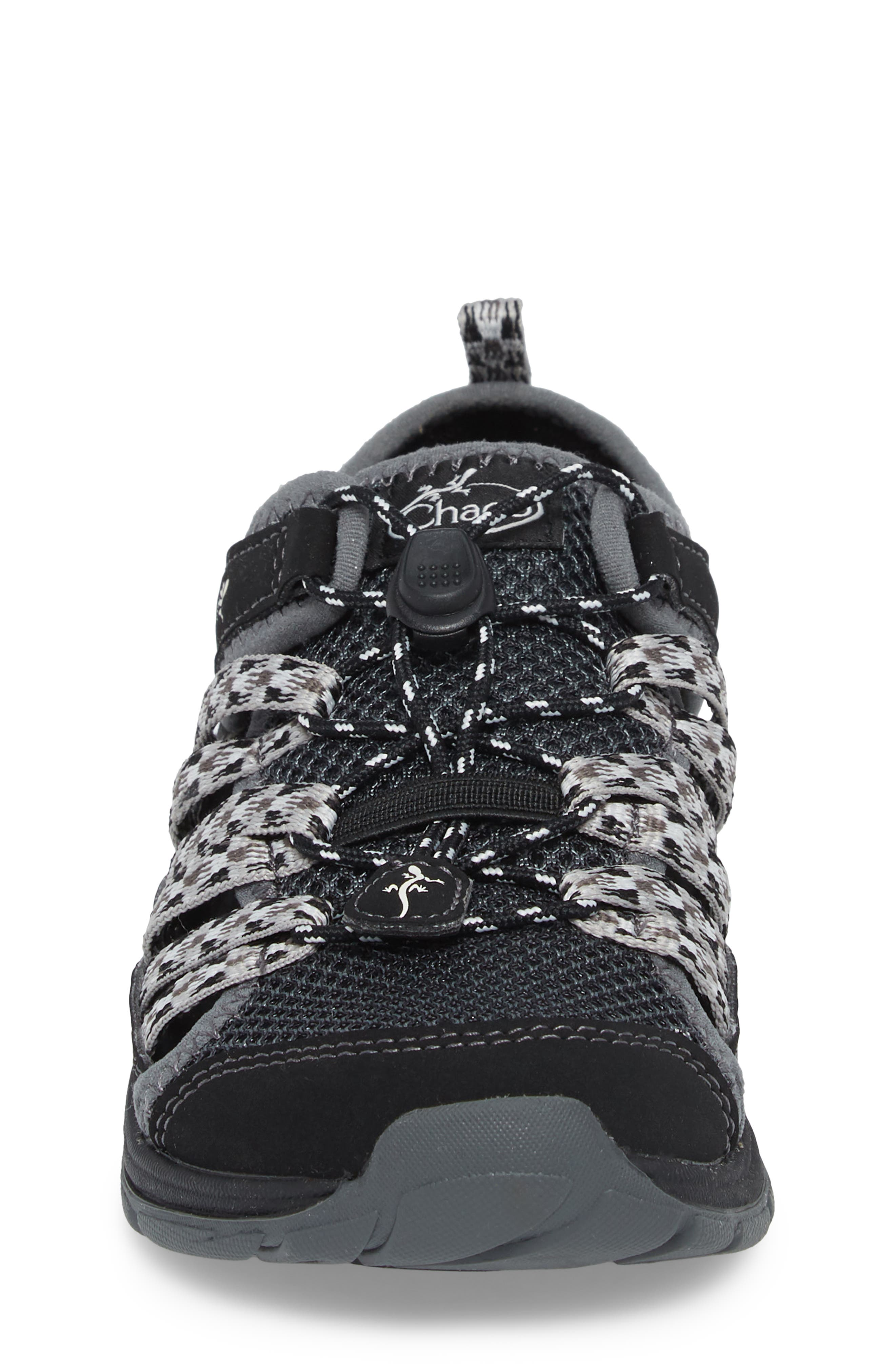 Outcross 2 Water Sneaker,                             Alternate thumbnail 4, color,                             BLACK