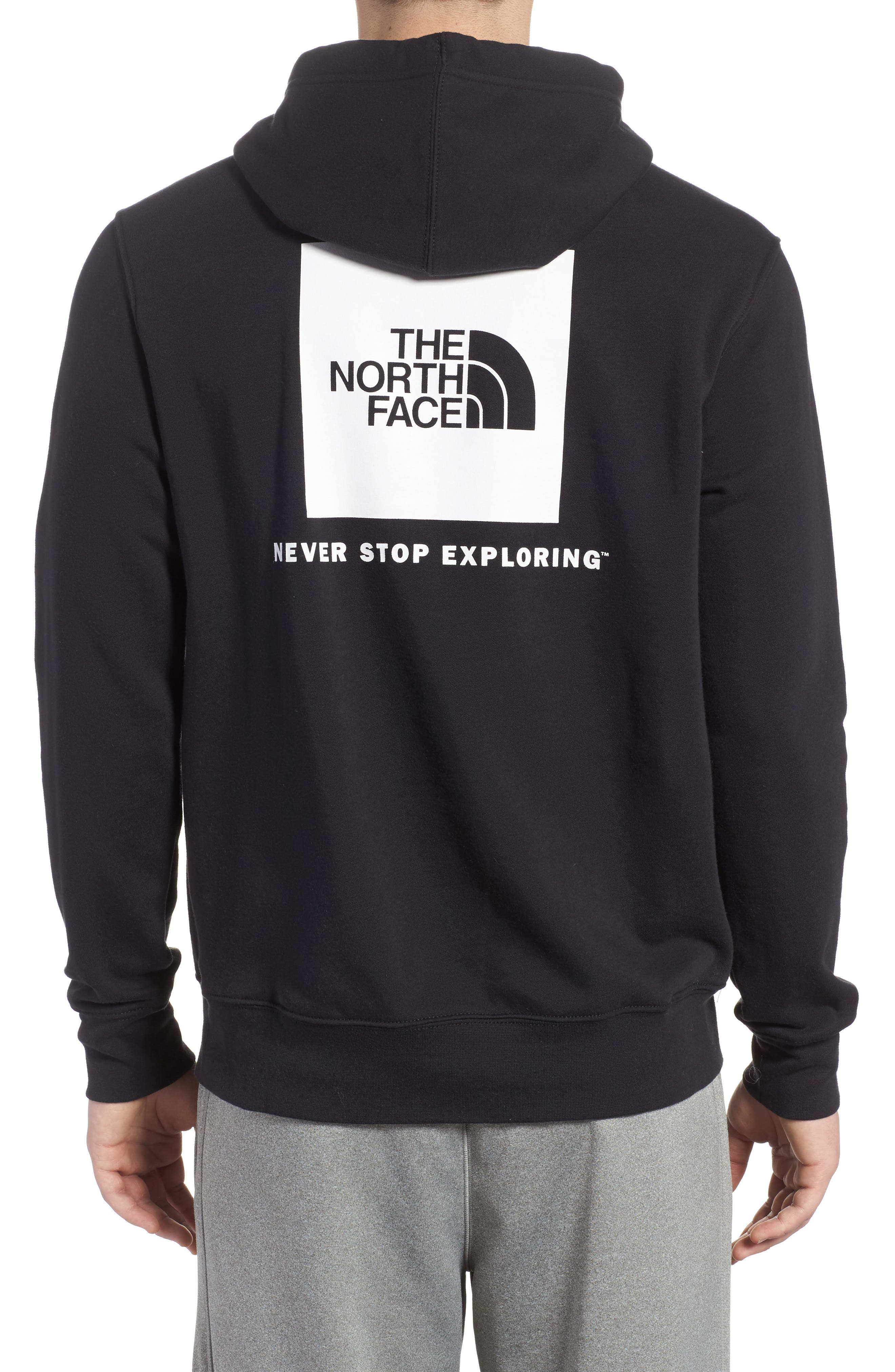 Red Box Hoodie,                             Alternate thumbnail 2, color,                             001