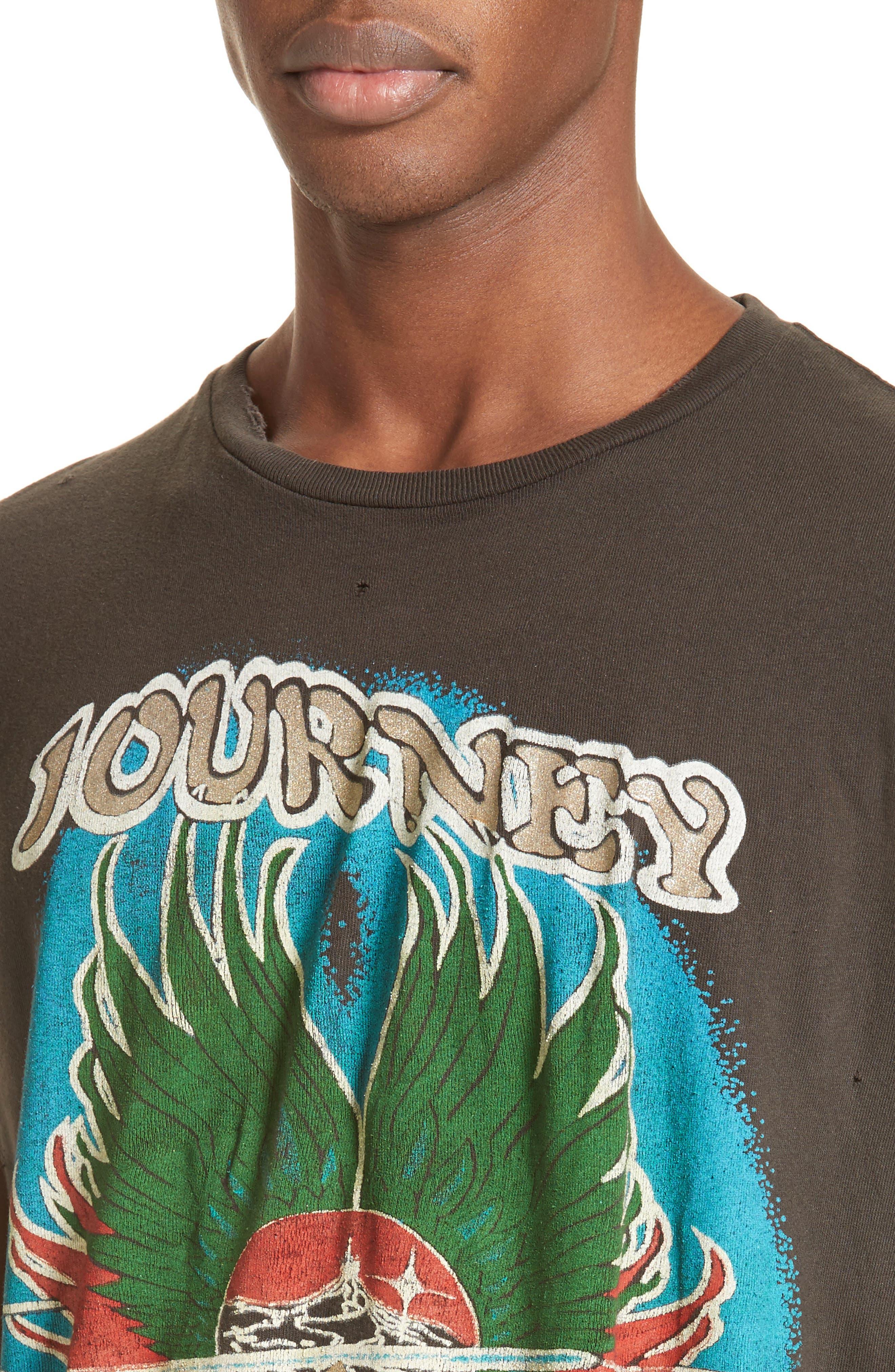 Journey Graphic T-Shirt,                             Alternate thumbnail 4, color,                             001