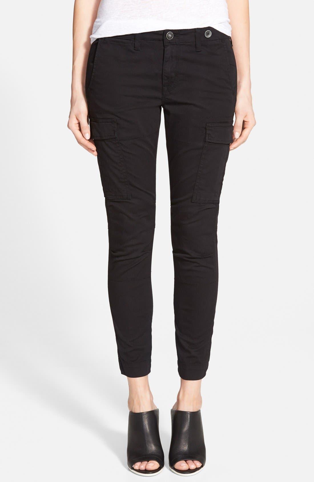 'Rowan' Slouchy Cargo Pants, Main, color, 001