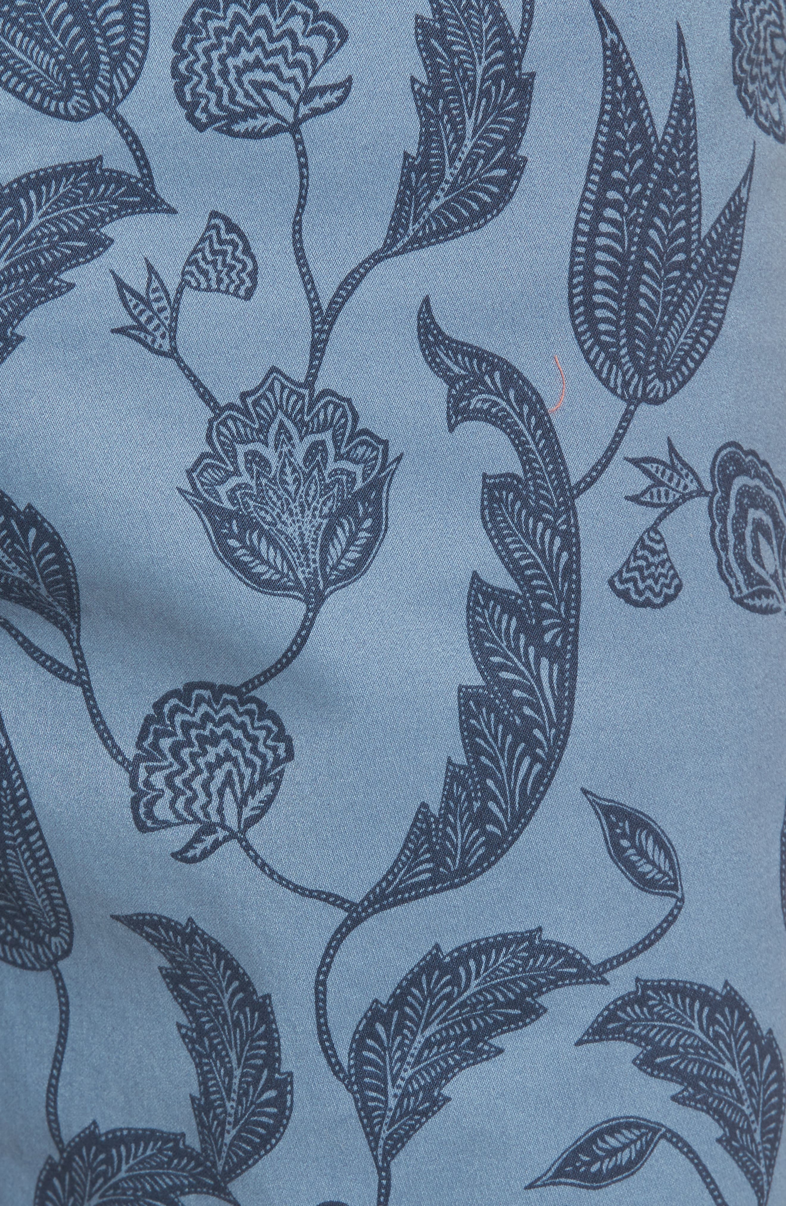 Uniprin Trim Fit Floral Golf Shorts,                             Alternate thumbnail 5, color,                             430