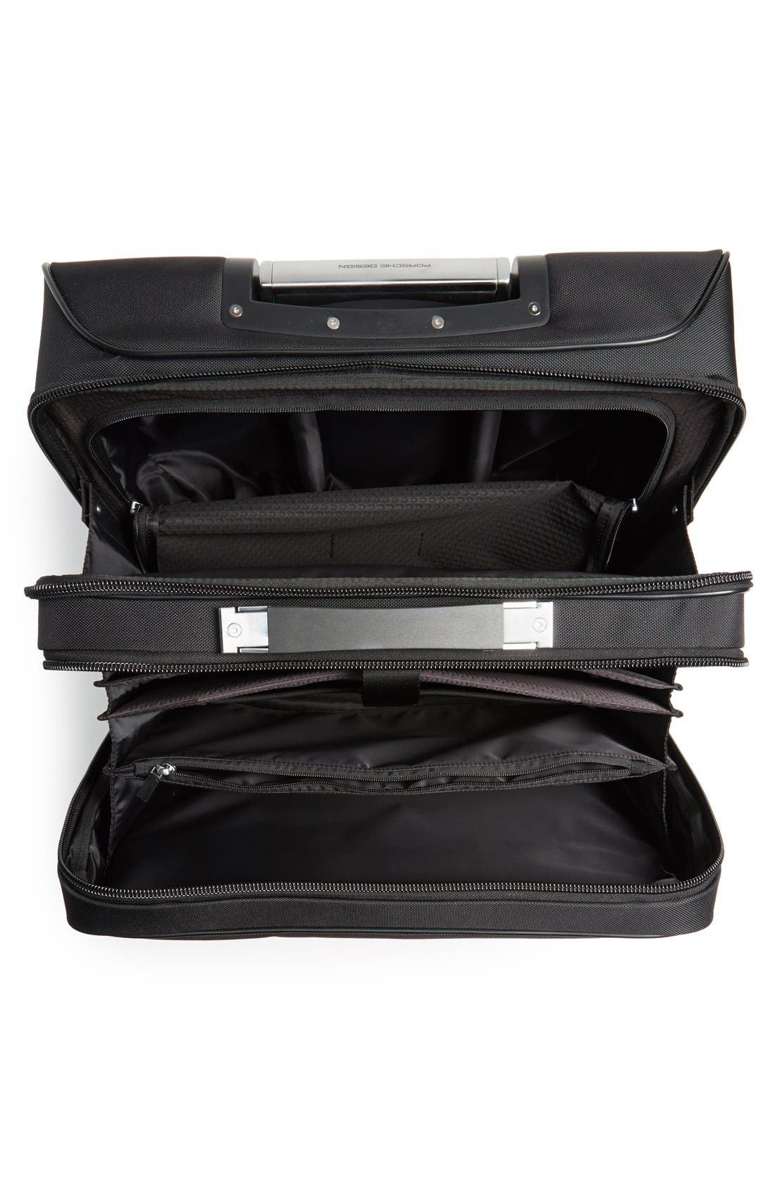 'Roadster 3.0' Wheeled Carry-On,                             Alternate thumbnail 4, color,