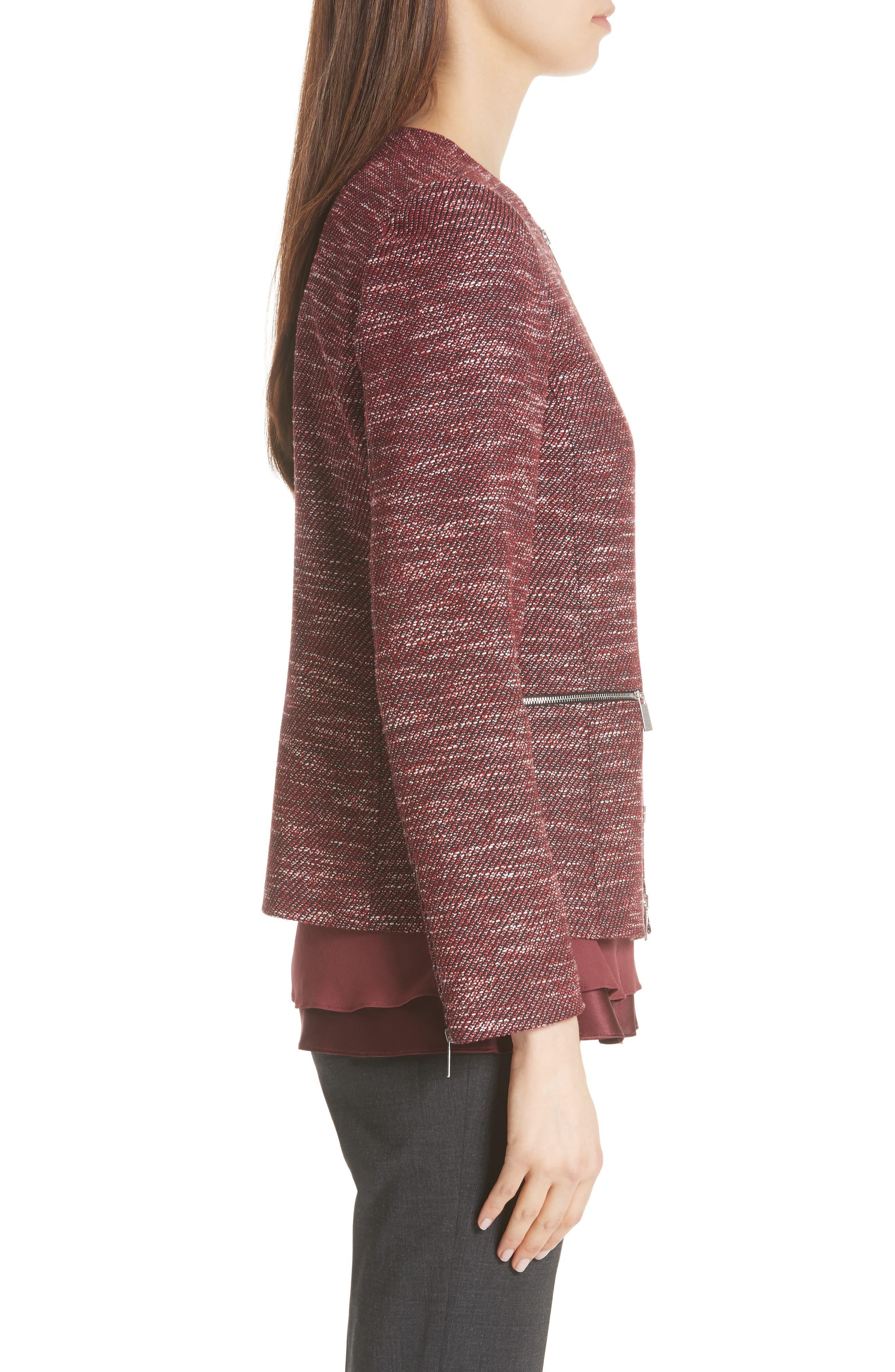 Kerrington Wool Blend Jacket,                             Alternate thumbnail 3, color,                             930