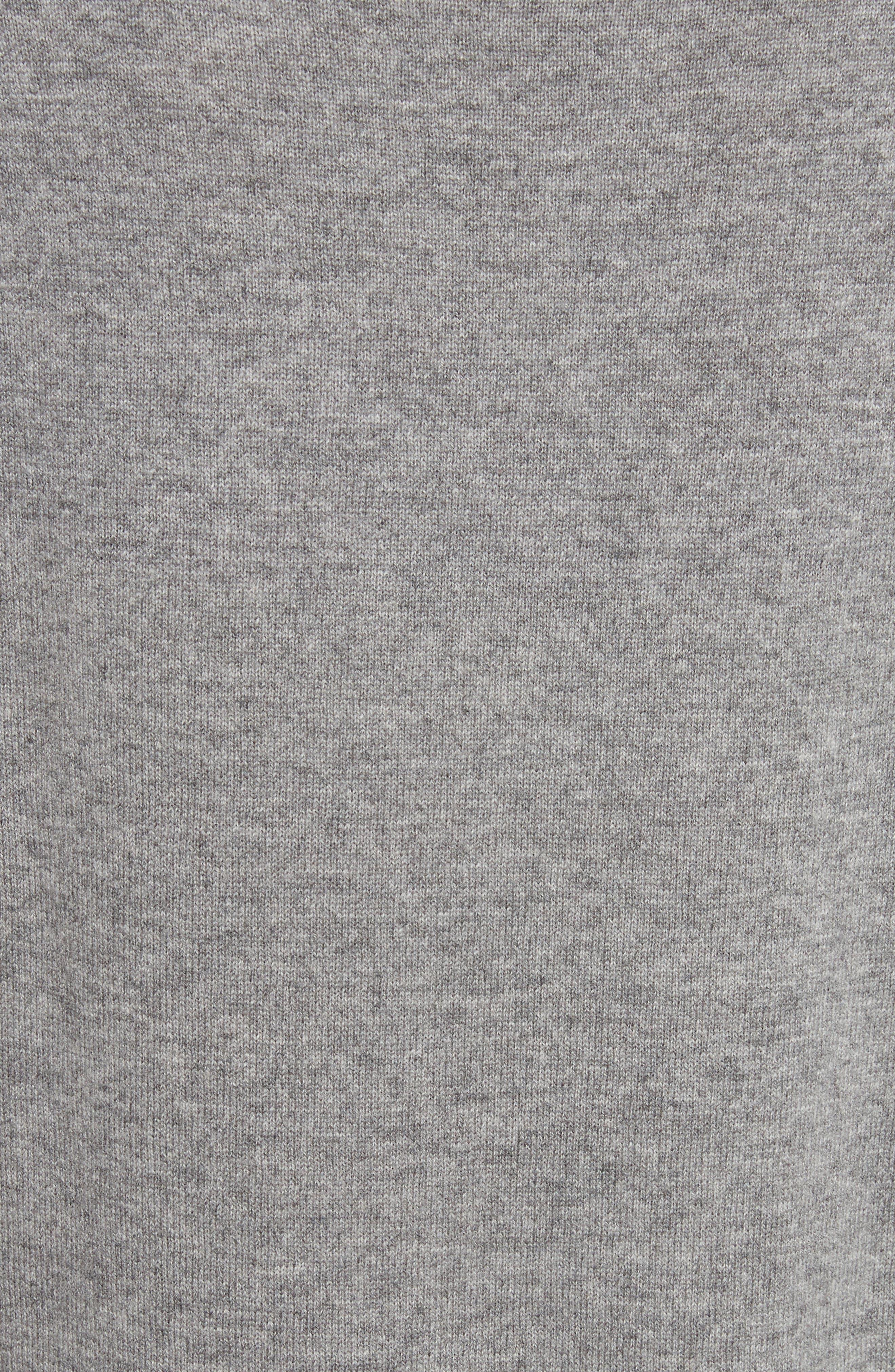 Cashmere Drop Waist Sweater Dress,                             Alternate thumbnail 5, color,                             027