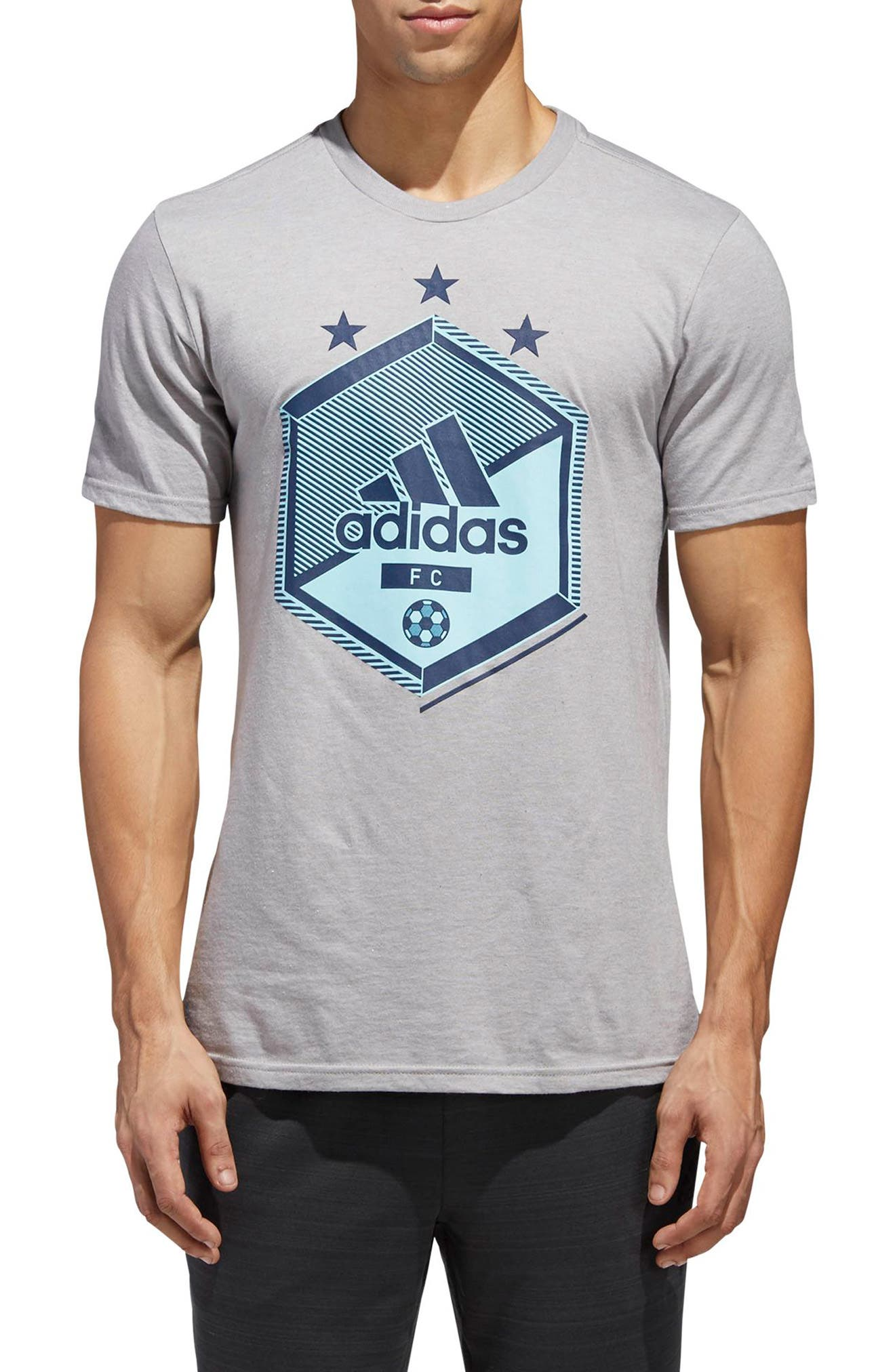 Slim Fit Soccer Graphic T-Shirt,                             Main thumbnail 2, color,