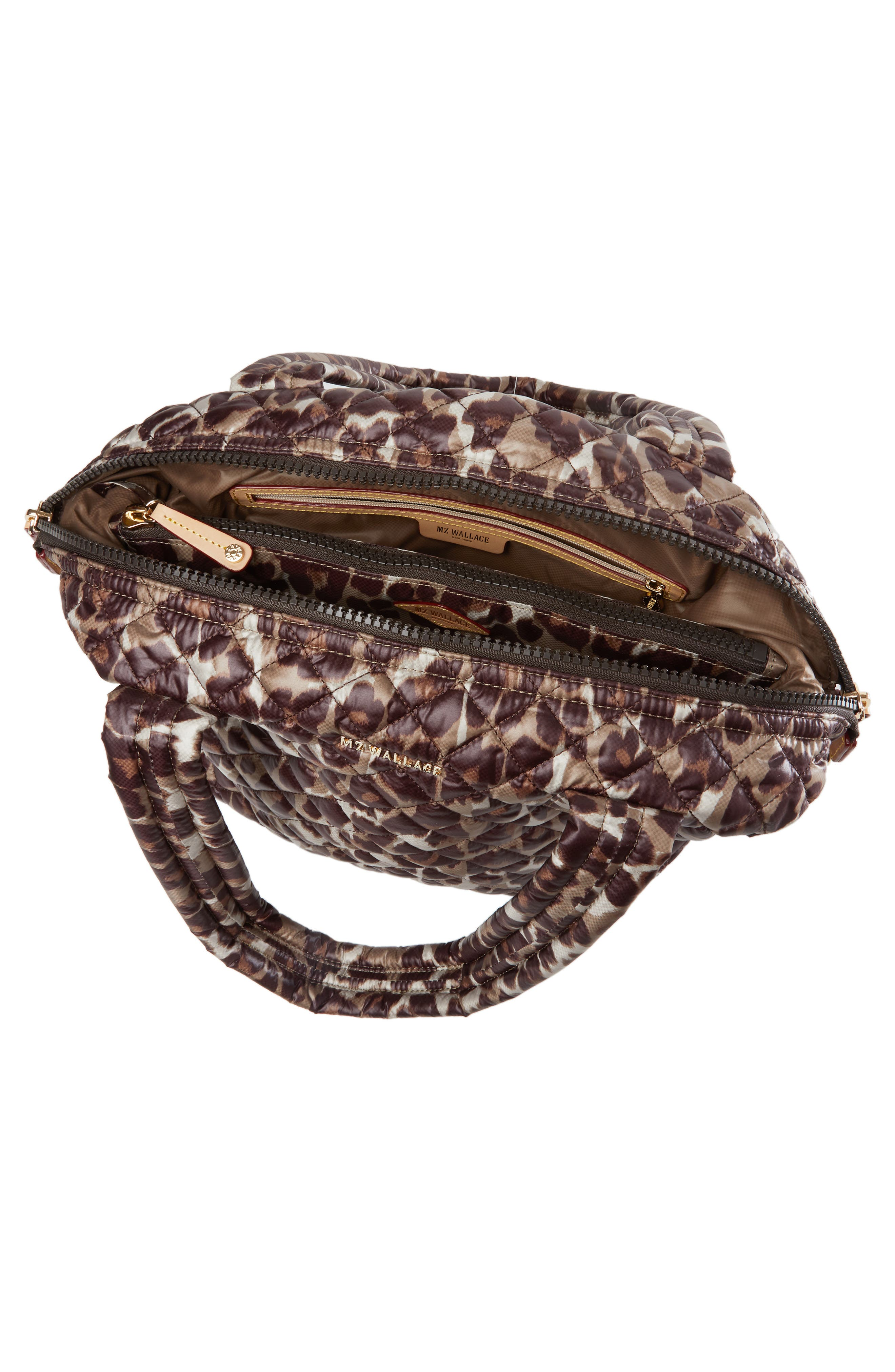 Medium Sutton Shoulder Tote,                             Alternate thumbnail 2, color,                             LEOPARD PRINT