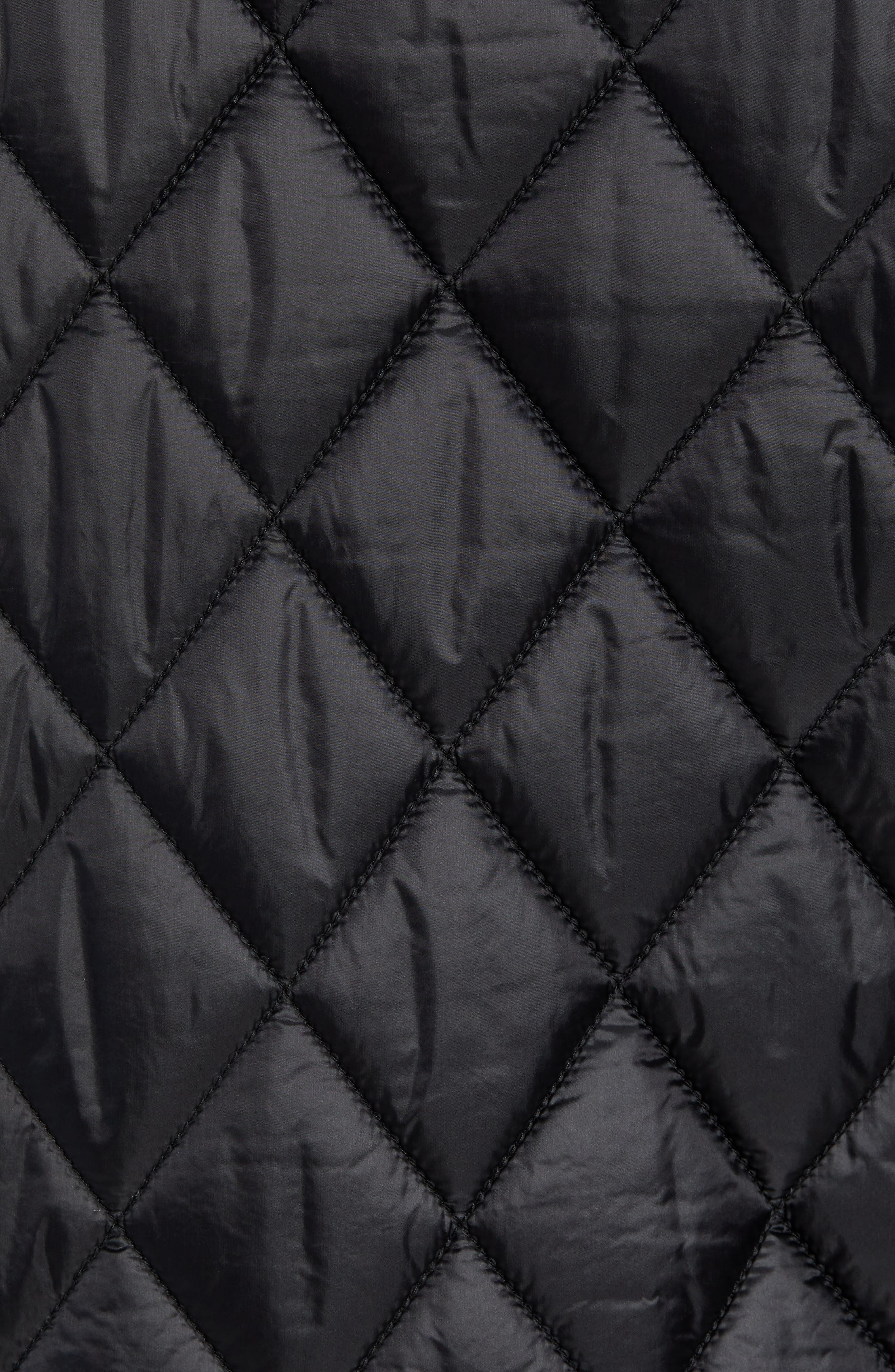Transit Quilted Jacket,                             Alternate thumbnail 7, color,                             BLACK
